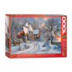 Eurographics Puzzle 1000: Christmas Cottage by Dominic Davison