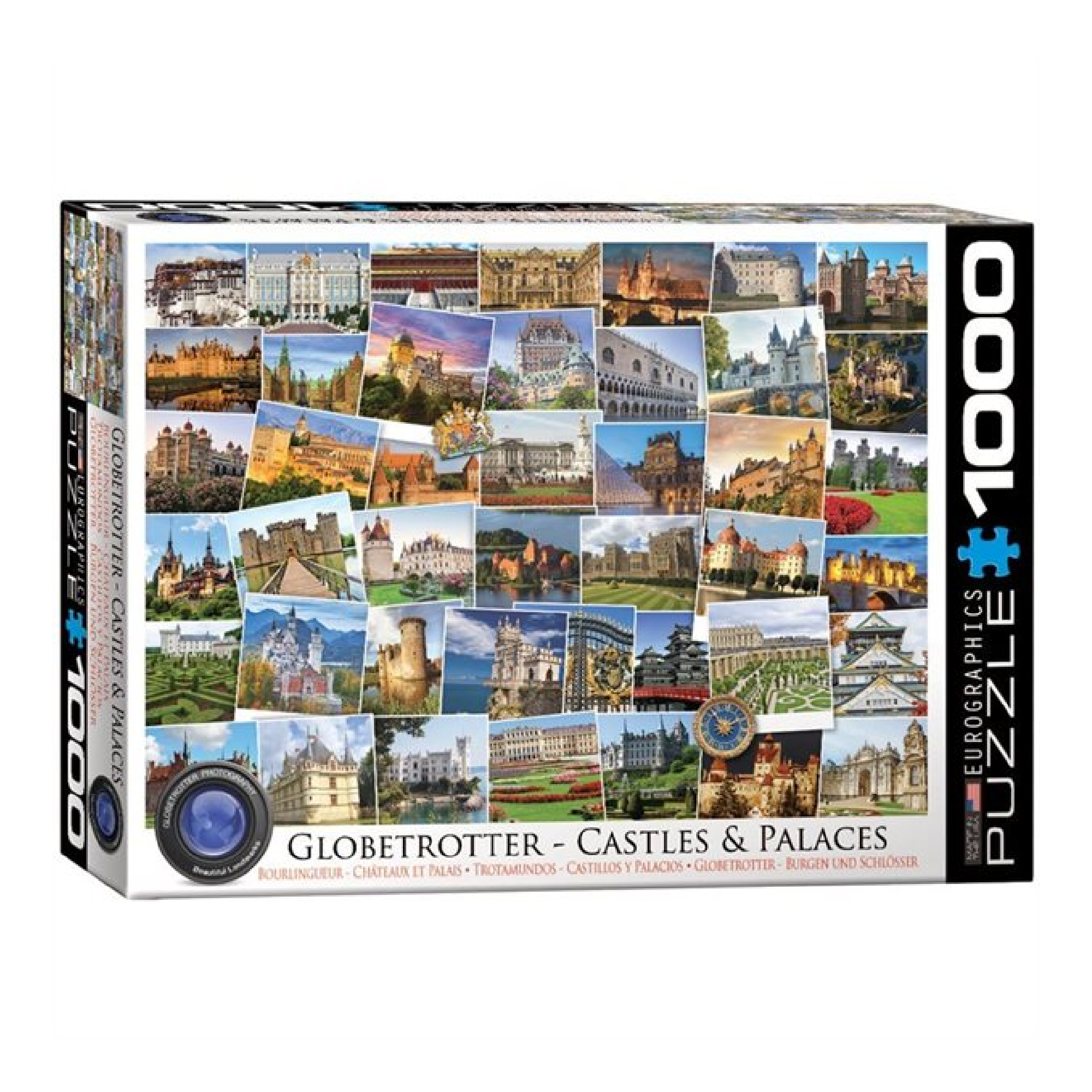 Eurographics Puzzle 1000: Castles and Palaces  - Globetrotter