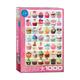 Eurographics Puzzle 1000: Cupcake Celebration