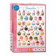 Eurographics Puzzle 1000: Cupcakes