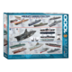 Eurographics Puzzle 1000: Aircraft Carrier Evolution