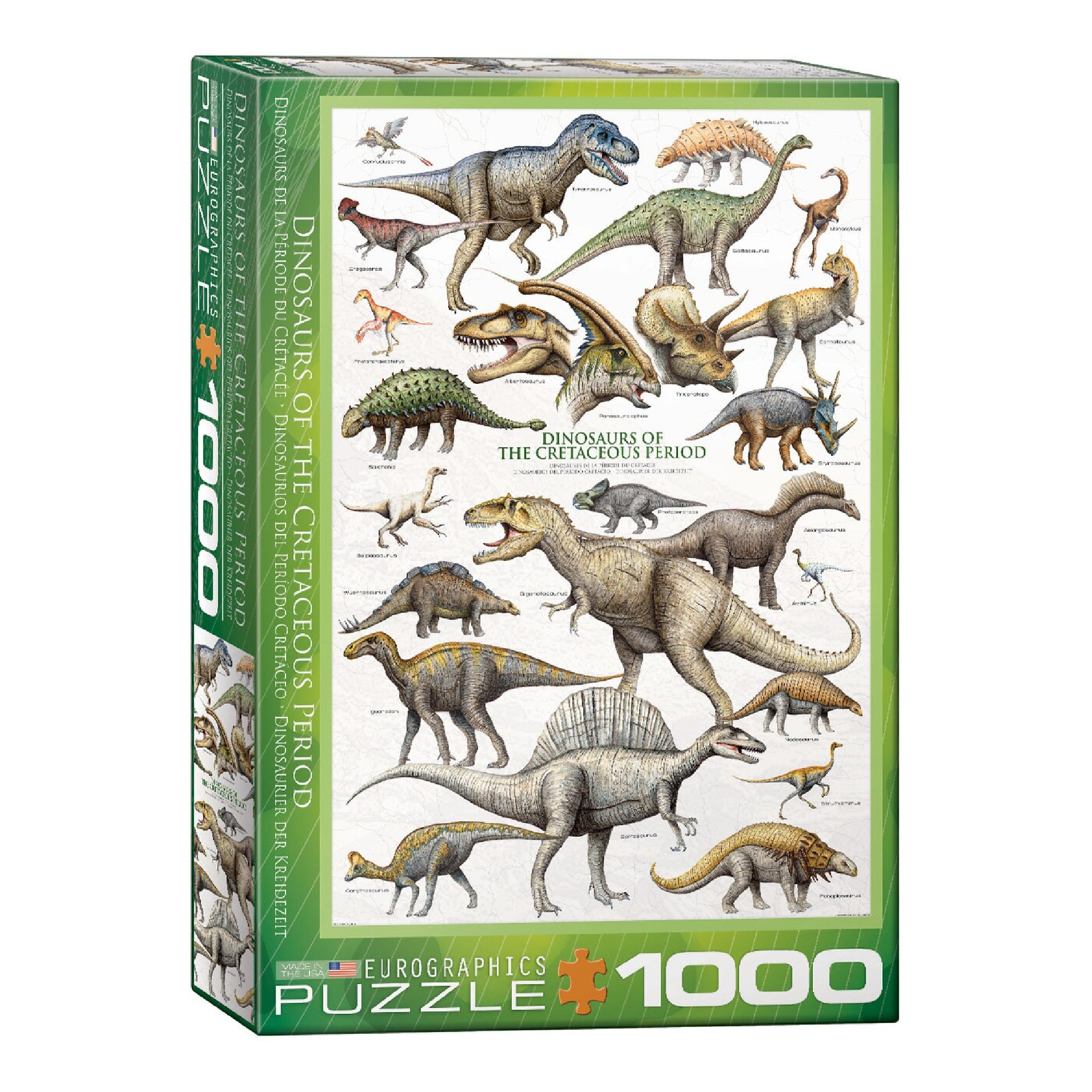 Eurographics Puzzle 1000: Dinosaurs of the Cretaceous Period