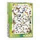 Eurographics Puzzle 1000: Butterflies
