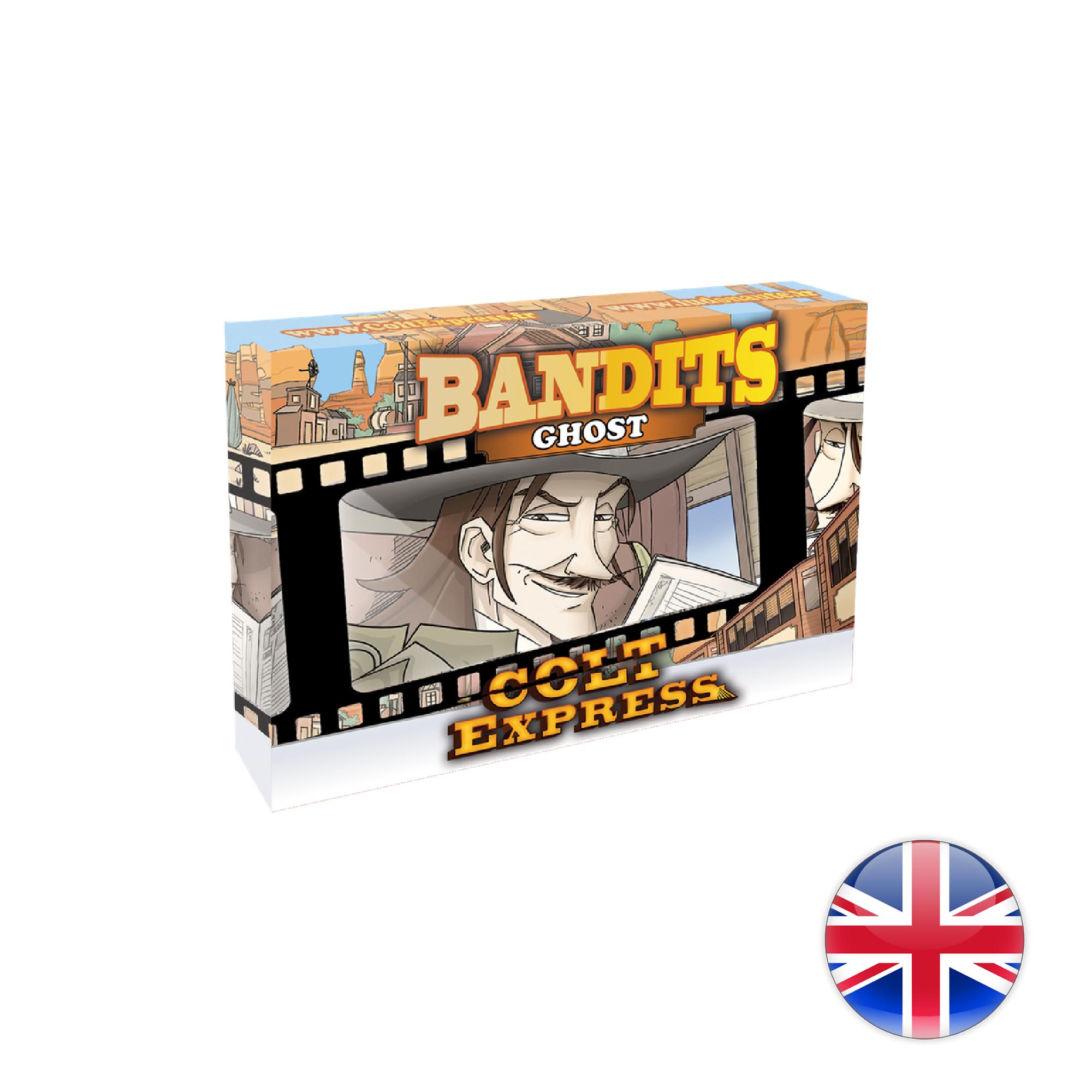 Ludonaute Colt Express Bandit Pack - Exp. Ghost
