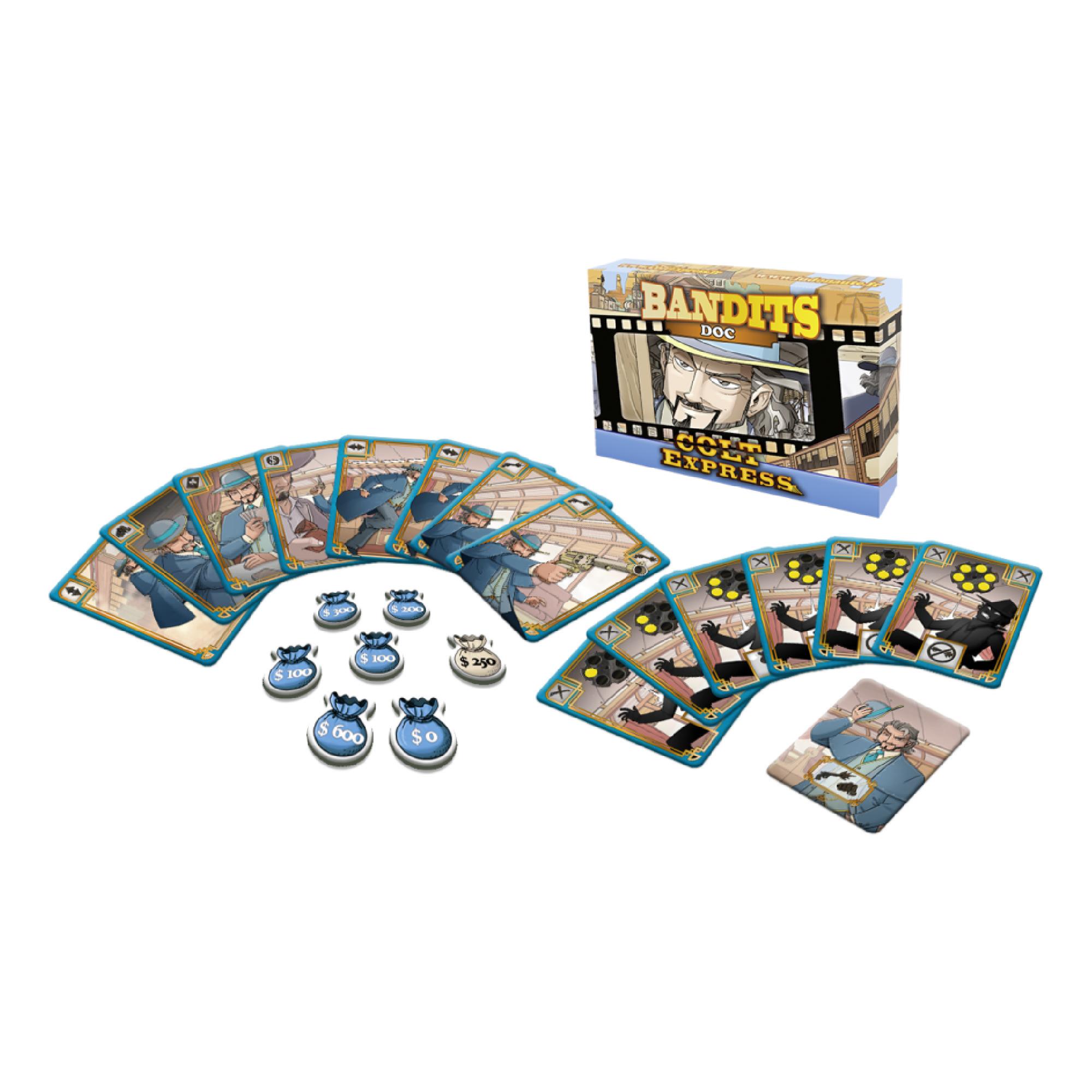 Ludonaute Colt Express Bandit Pack: Doc Expansion