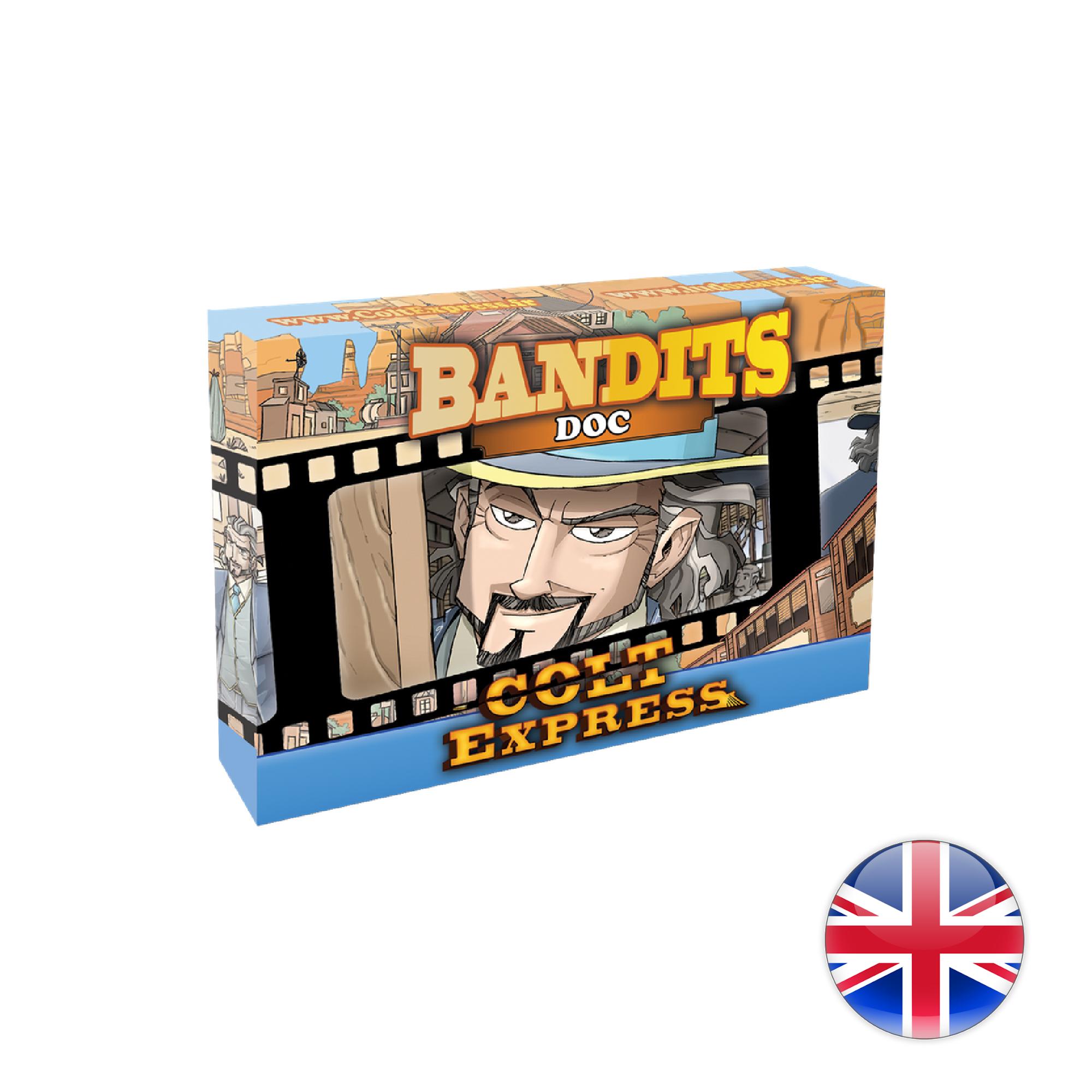 Ludonaute Colt Express Bandit Pack - Exp. Doc
