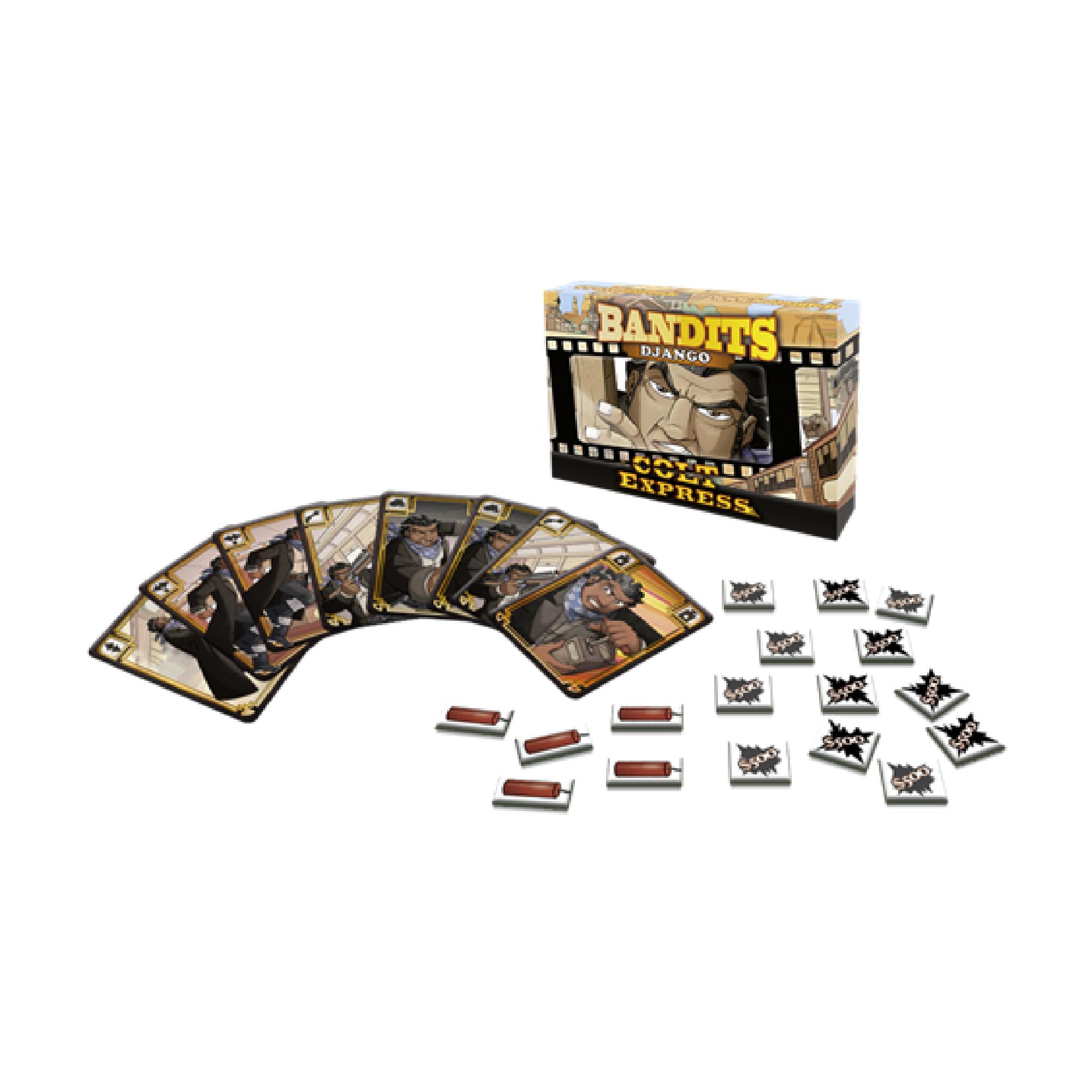 Ludonaute Colt Express Bandit Pack - Exp. Django