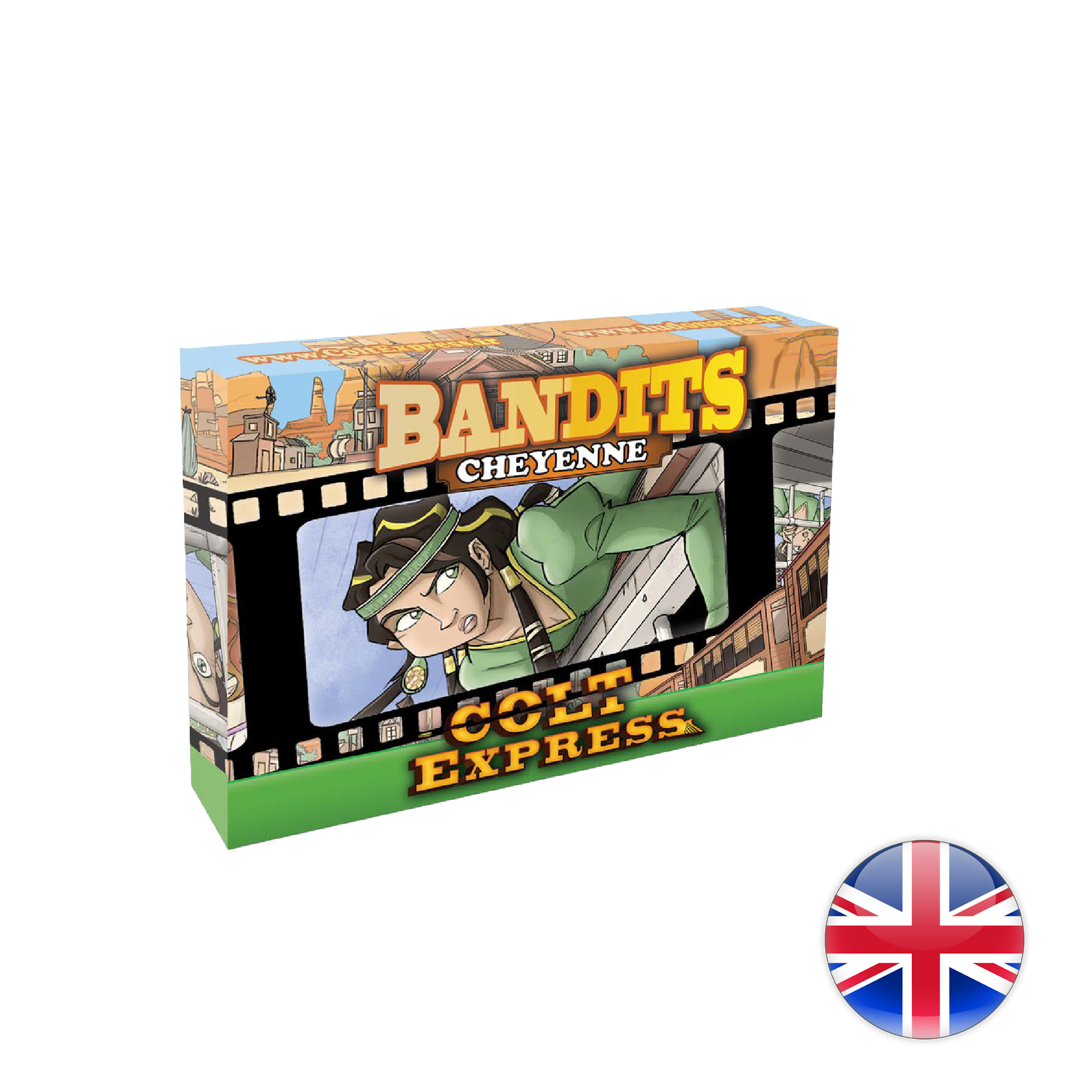 Ludonaute Colt Express Bandit Pack - Exp. Cheyenne
