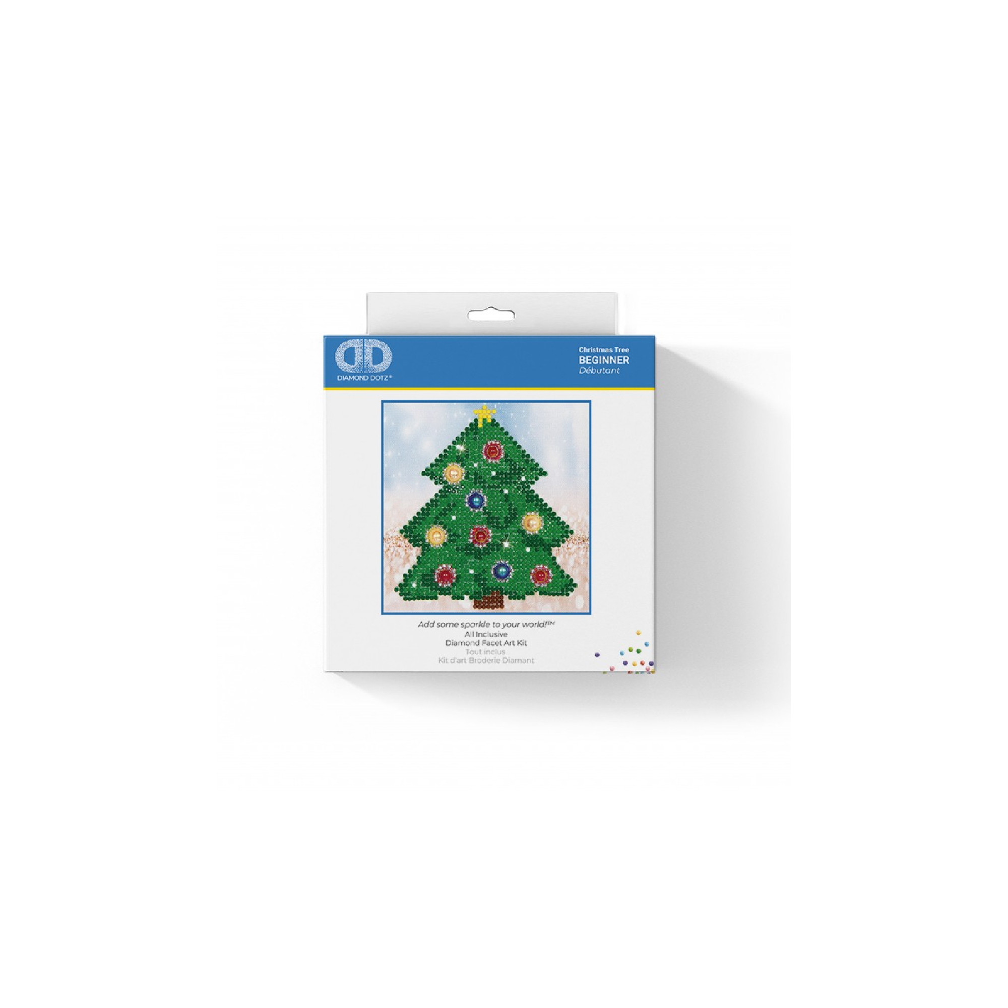 Diamond Dotz Christmas Tree Picture Diamond Painting Kit