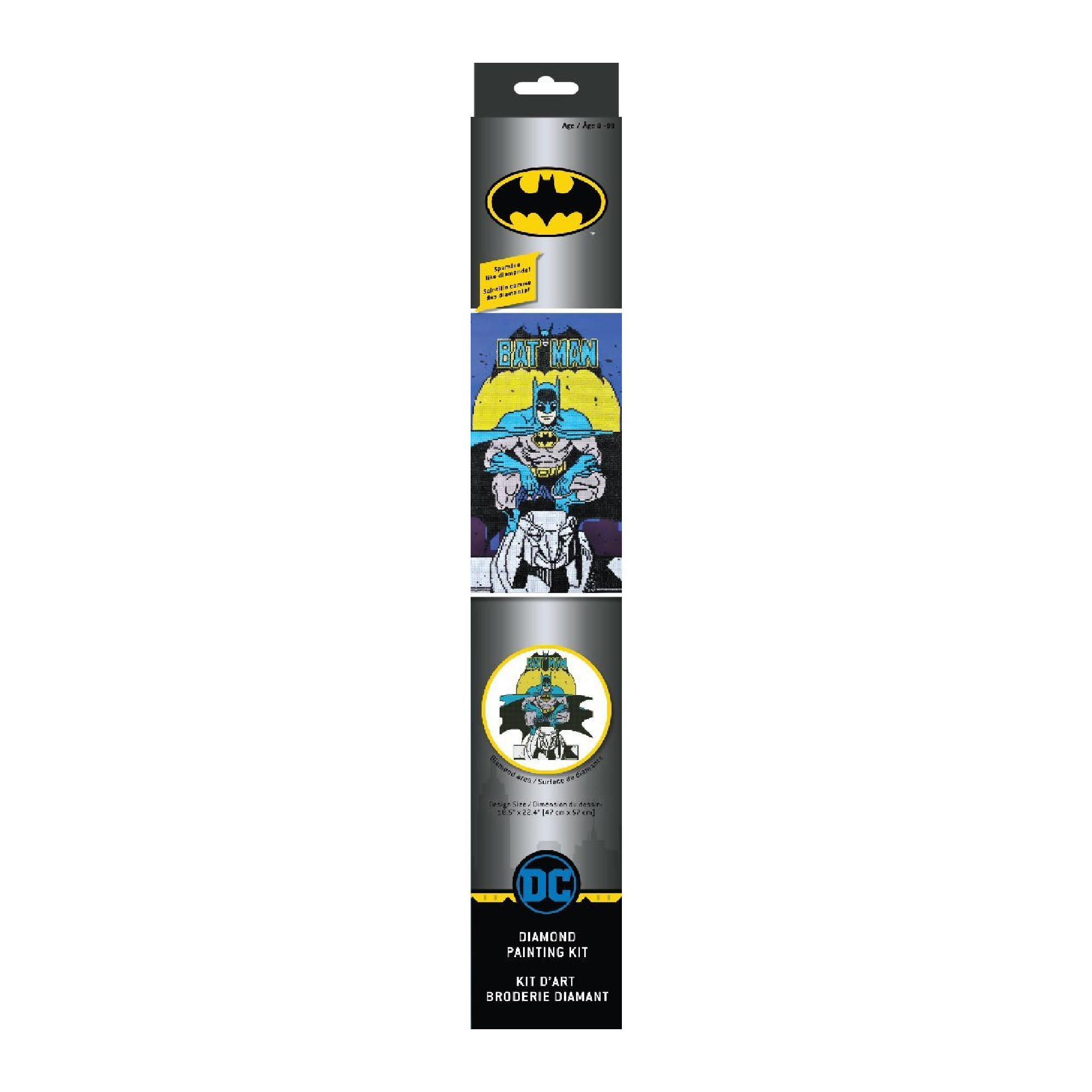 Diamond Dotz Batman Diamond Painting Kit