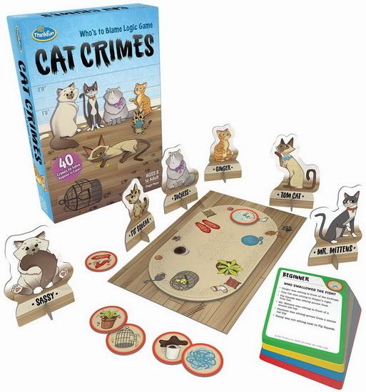 Thinkfun Cat Crimes VF