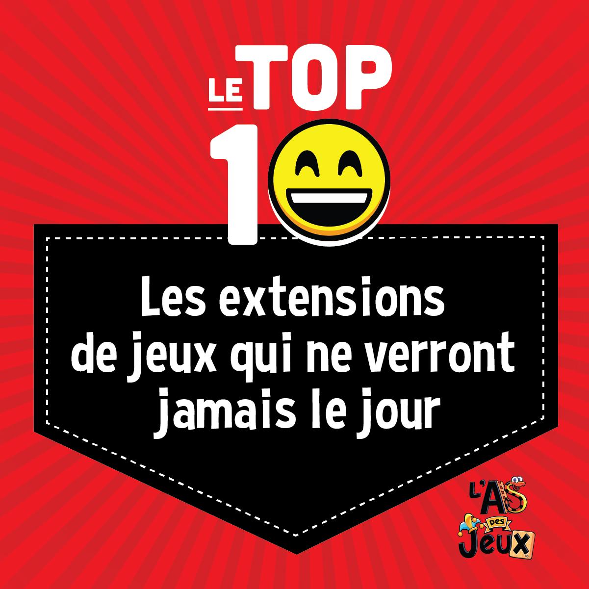 Top 10: Les extensions de jeux qui ne verront jamais le jour