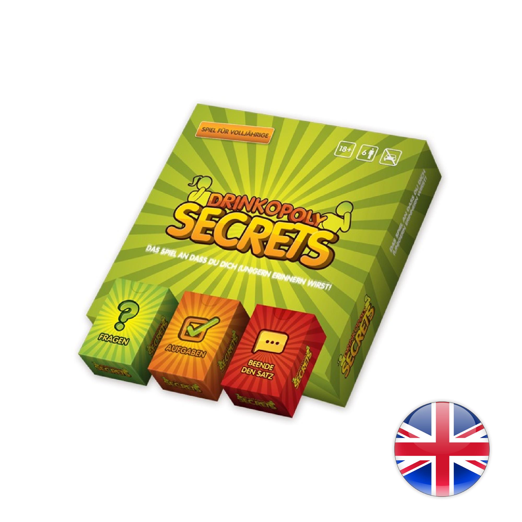 Crazy Dice Drinkopoly: Secrets