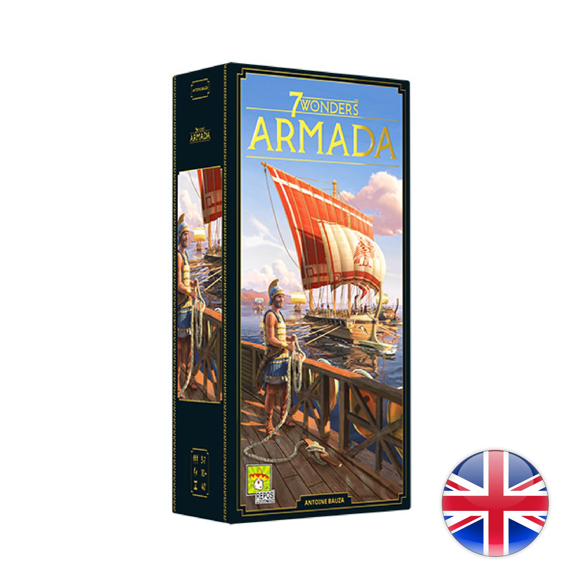 Asmodee 7 Wonders - Armada VA