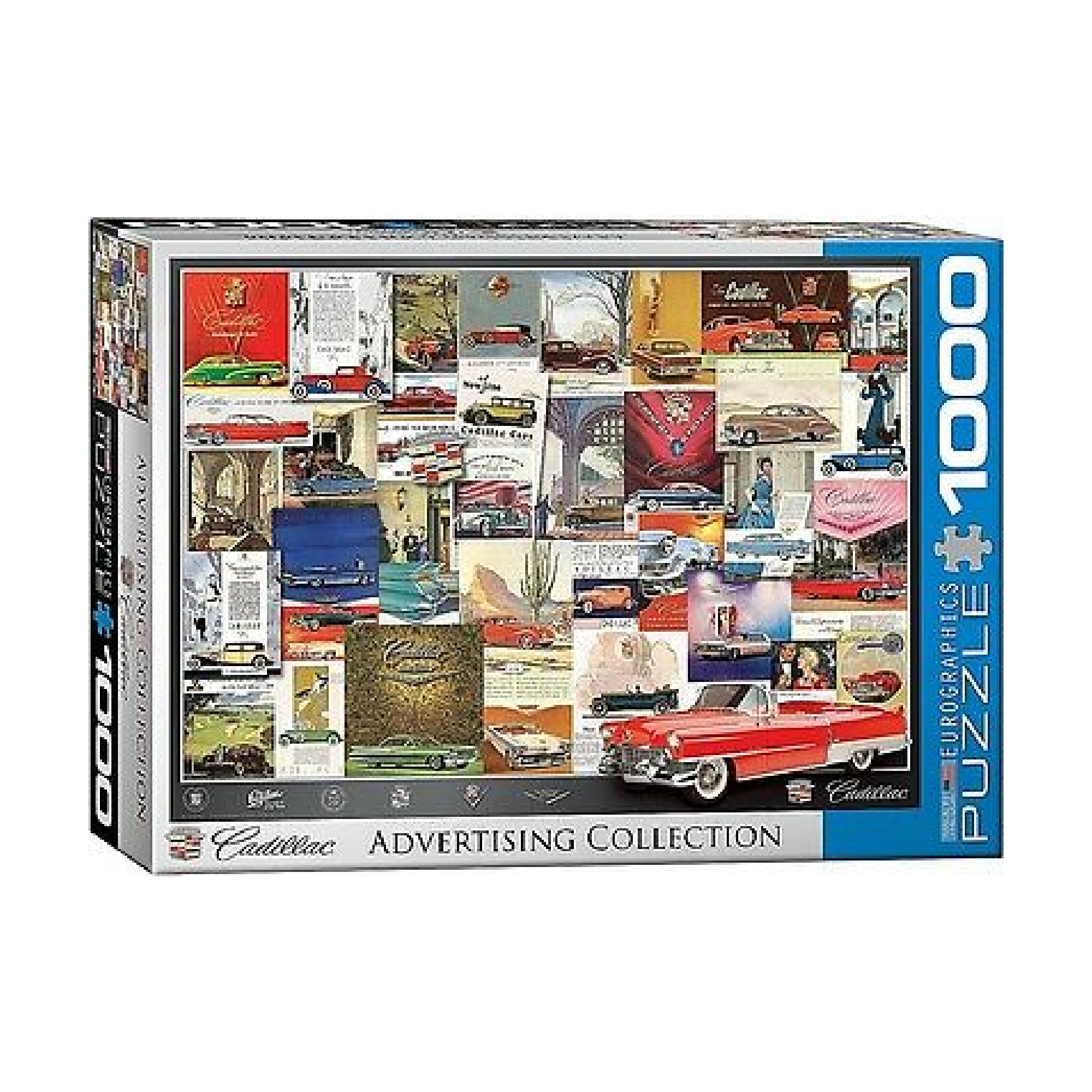 Eurographics Puzzle 1000: Cadillac Advertising Collection