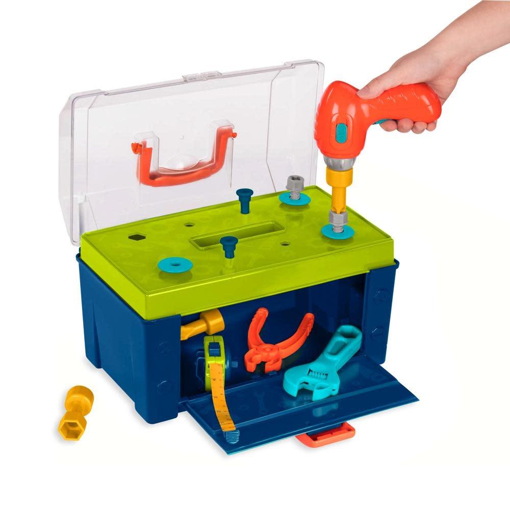 Battat Coffre d'outils Busy Builder