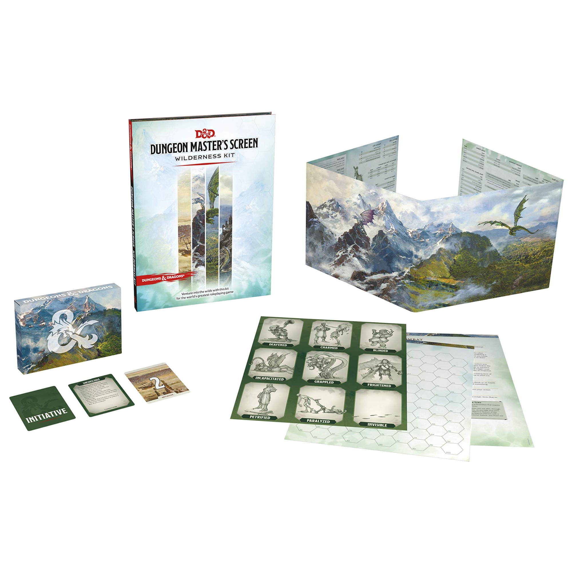 Wizards of the Coast D&D Dungeons and Dragons: Dungeon Master's Screen Wilderness Kit