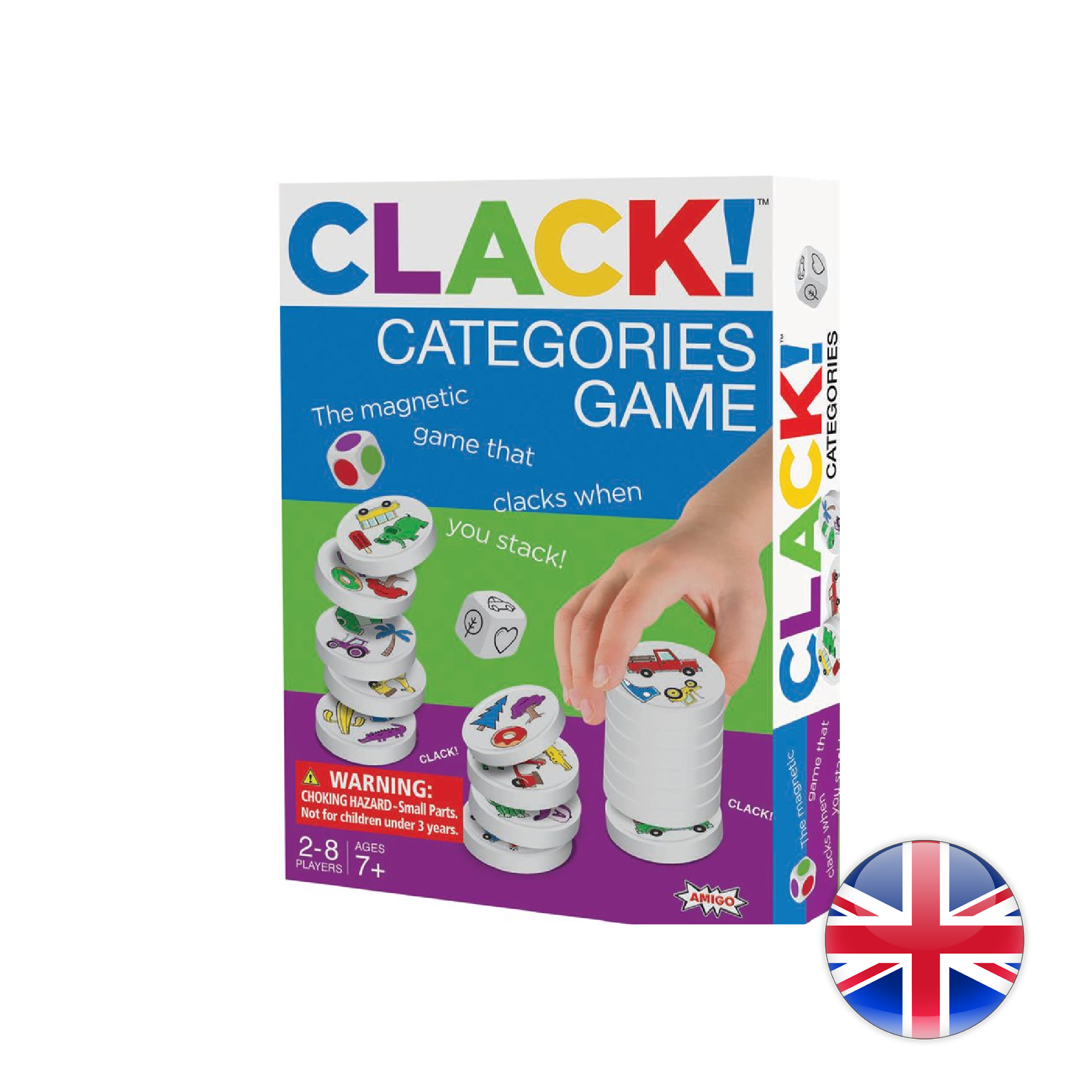 Amigo Clack! Categories