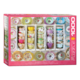 Eurographics Puzzle 1000: Colorful Tea Cups