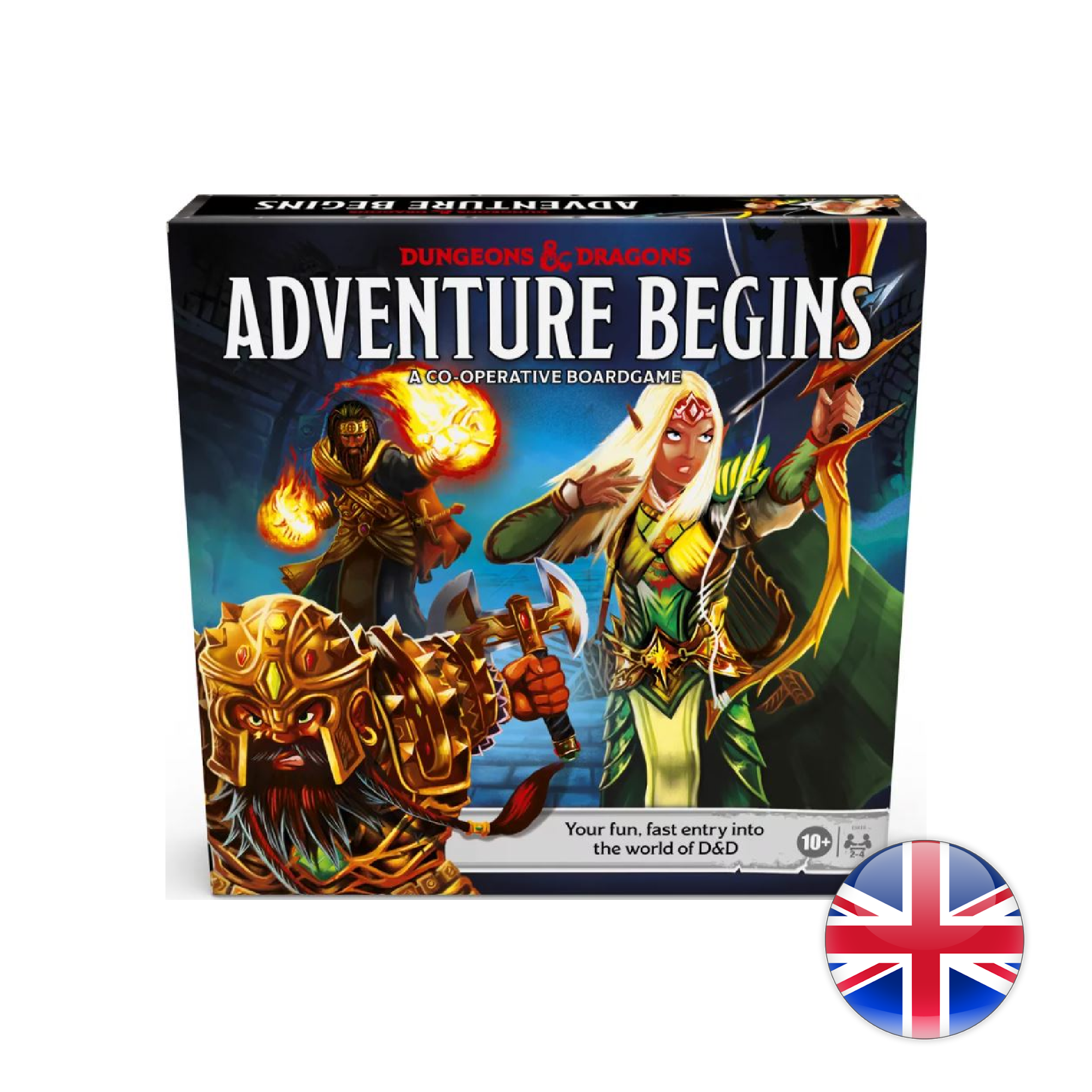 Hasbro Games D&D Dungeons & Dragons: Adventure Begins