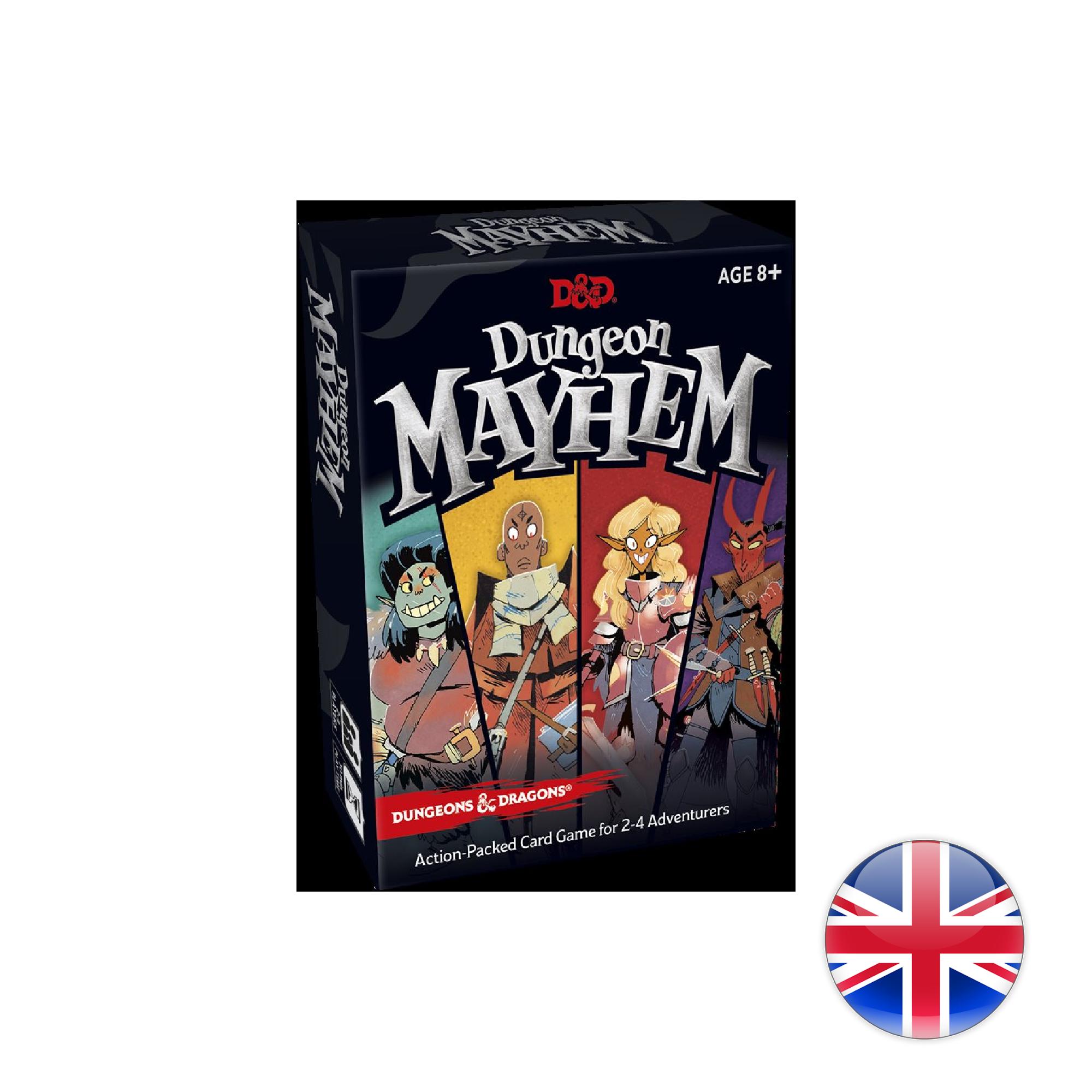 D&D Dungeons & Dragons: Dungeon Mayhem