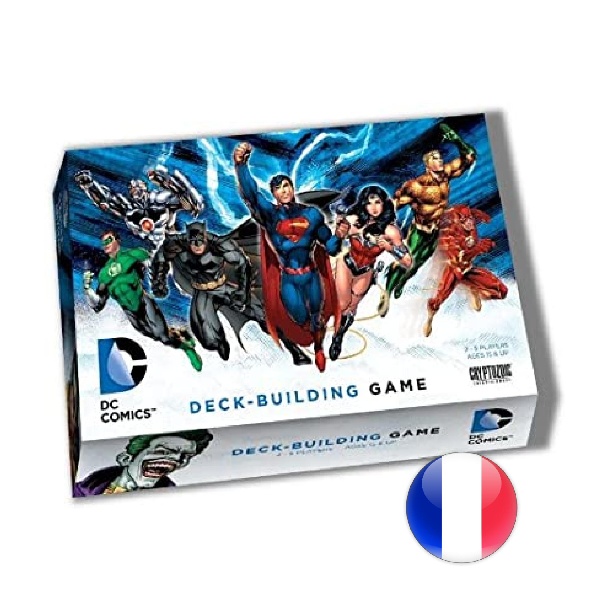 Don't Panic Games DC Comics Deck Building Game VF