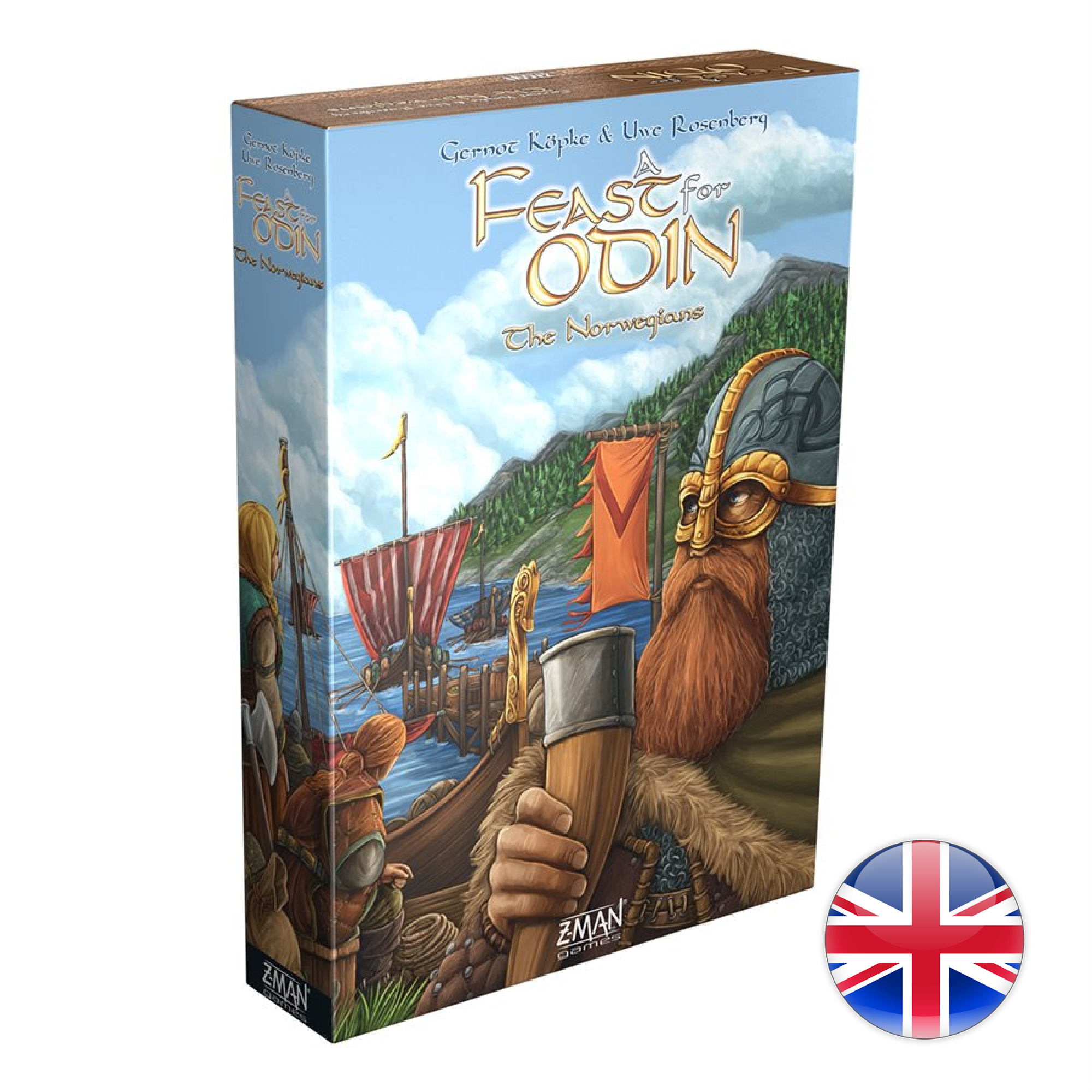 Z-Man A Feast for Odin: The Norwegians