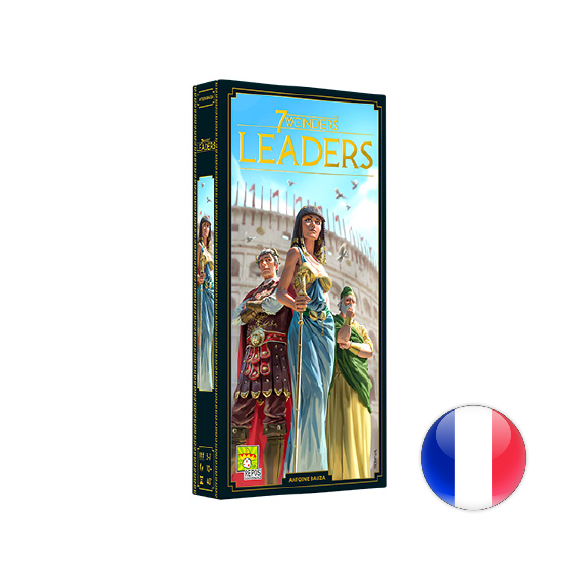 Asmodee 7 Wonders, Nouvelle édition, Leaders VF
