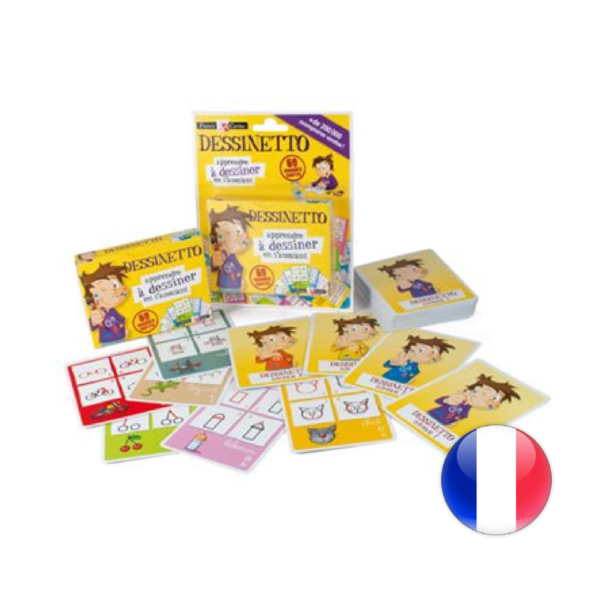 France Cartes Cartatoto Dessinetto