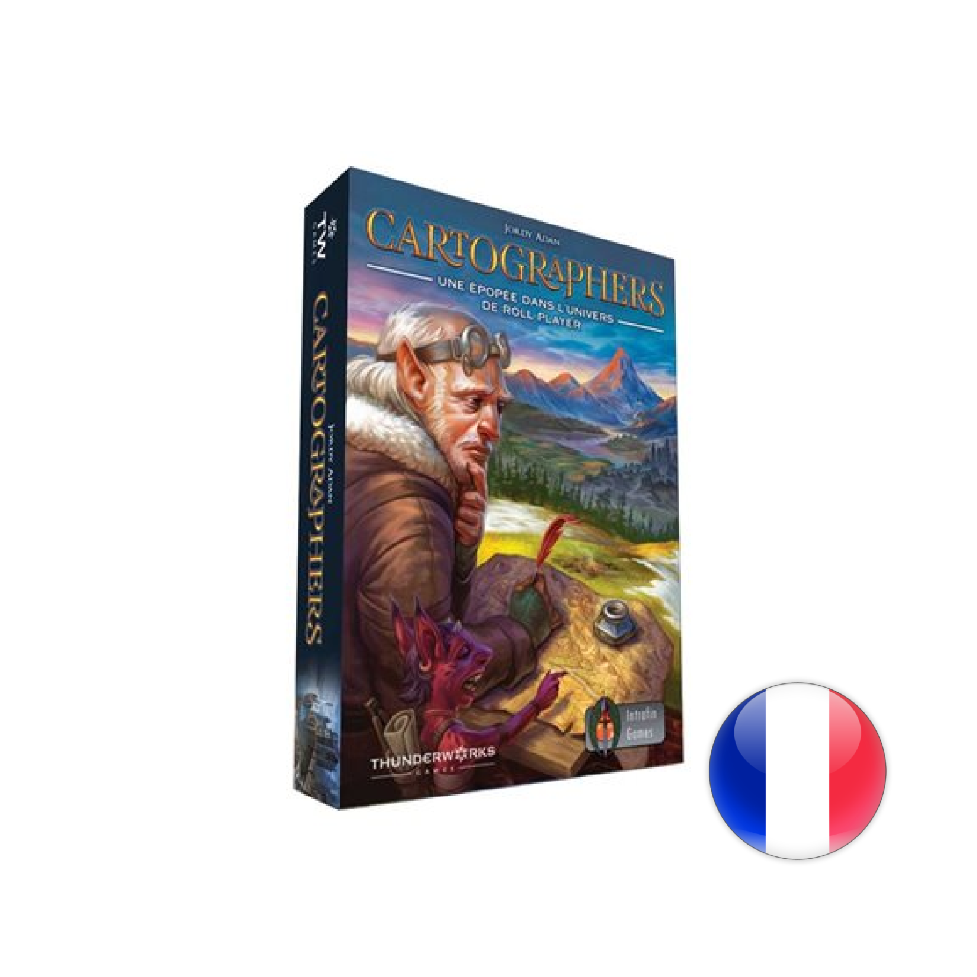 Intrafin Games Cartographers: Une épopée dans l'univers de Roll Player
