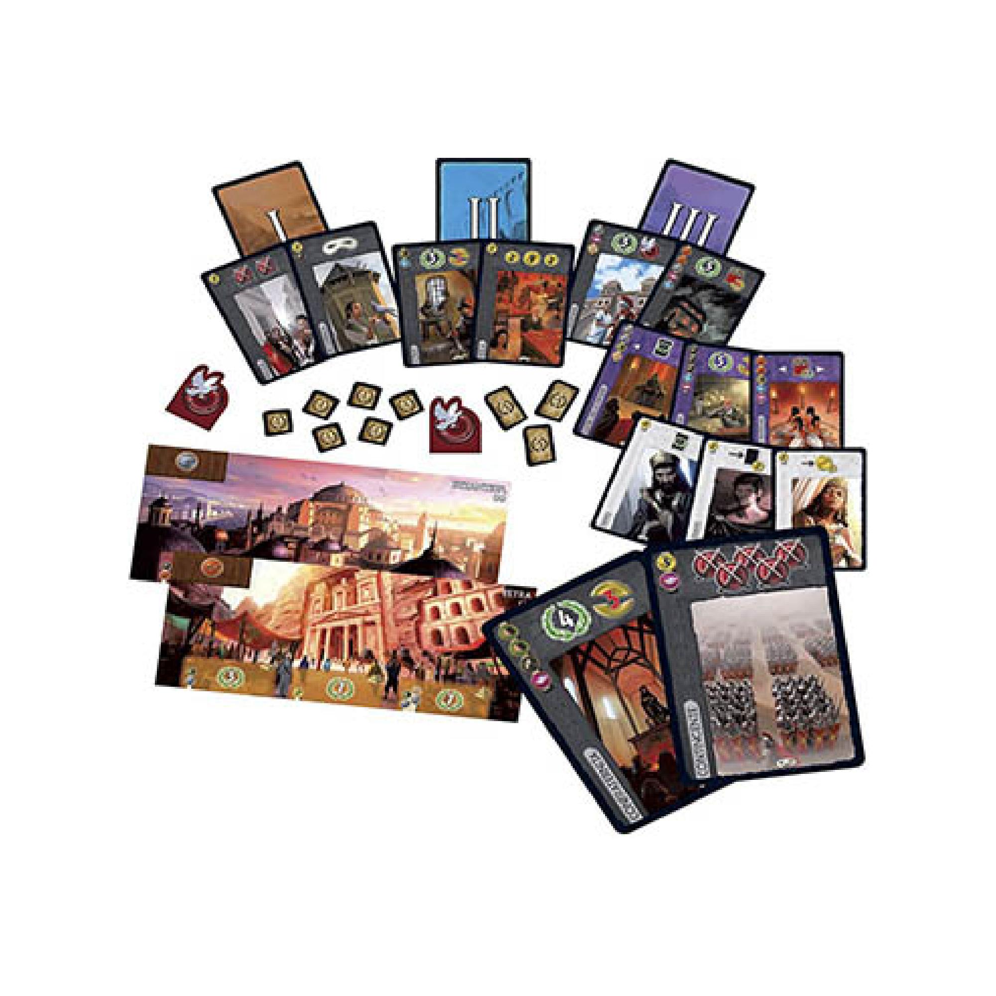 Asmodee 7 Wonders New Edition / Cities