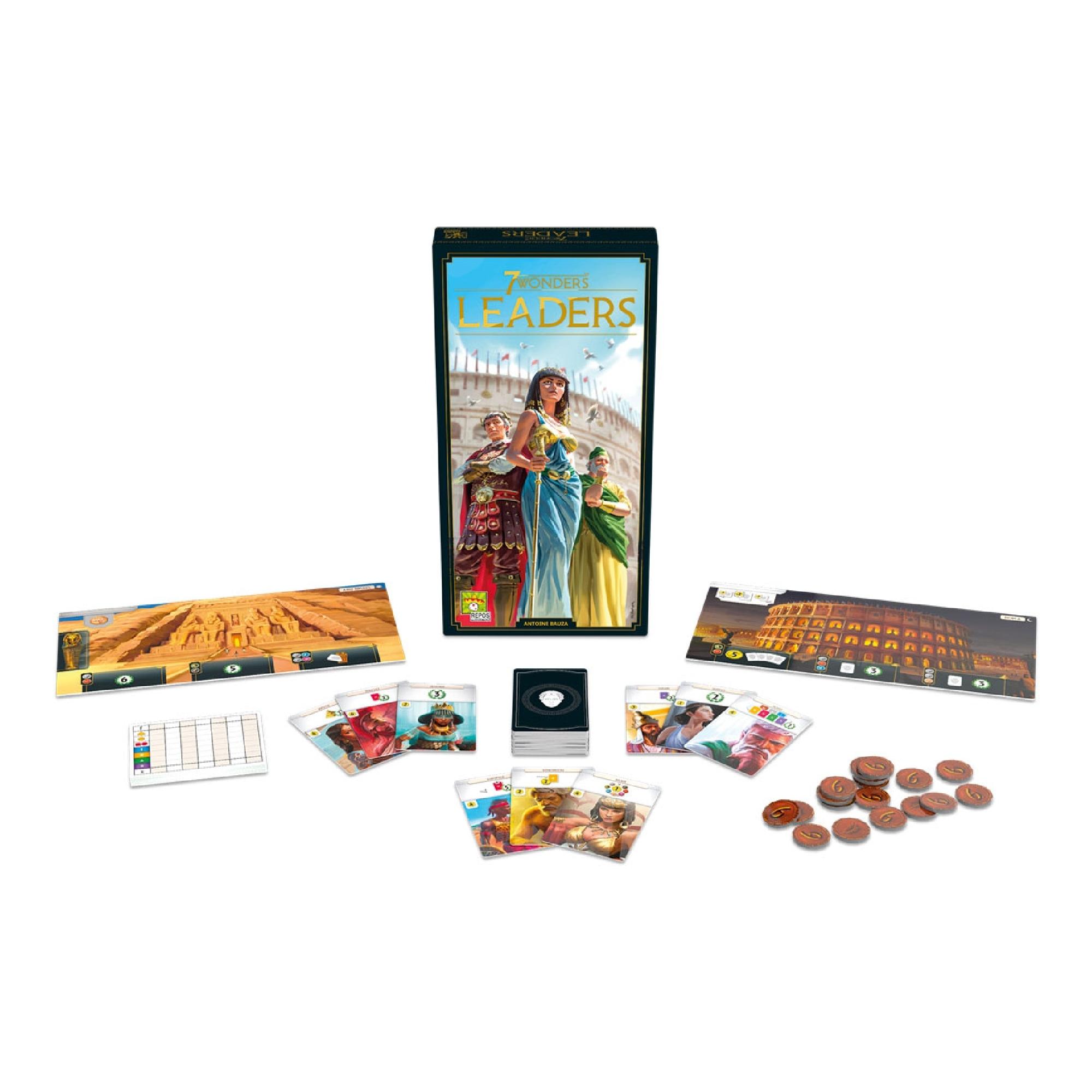 Asmodee 7 Wonders, New Edition, Leaders VA