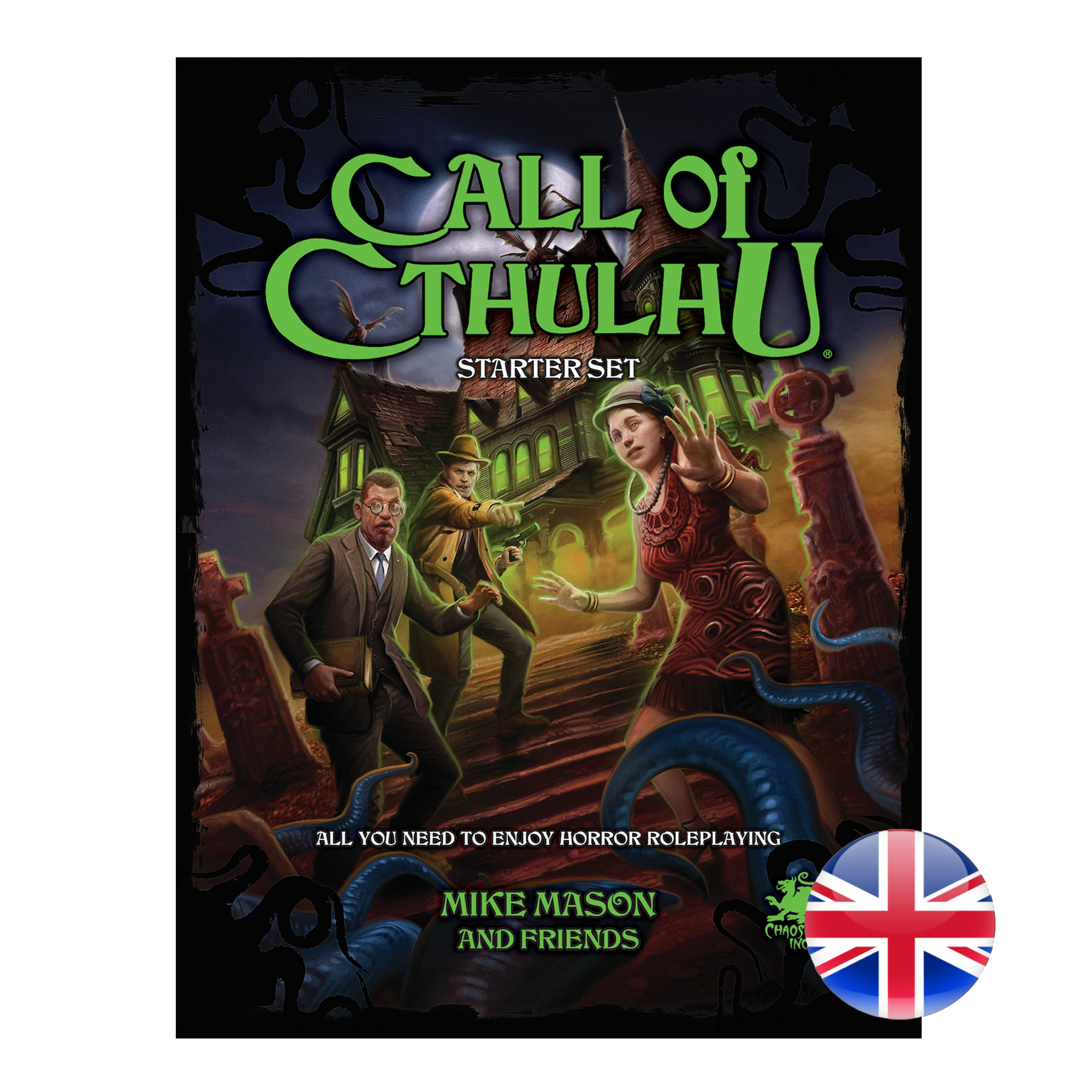 Chaosium Call of Cthulhu RPG 7th Edition Starter Set