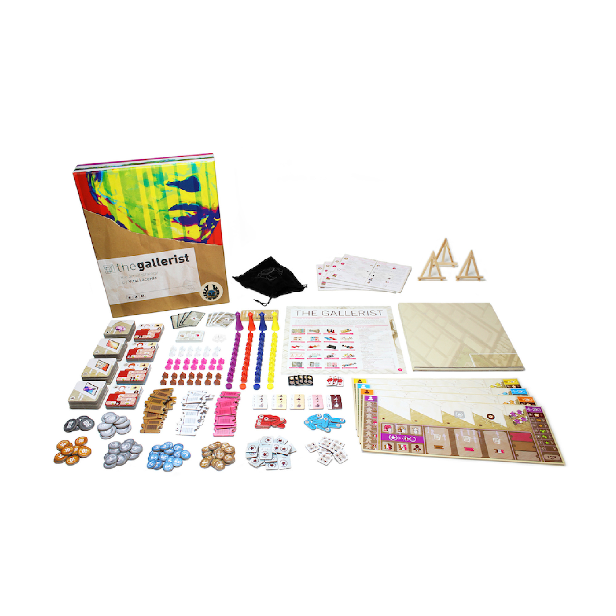 Eagle-Gryphon Games The Gallerist w Scoring Expansion