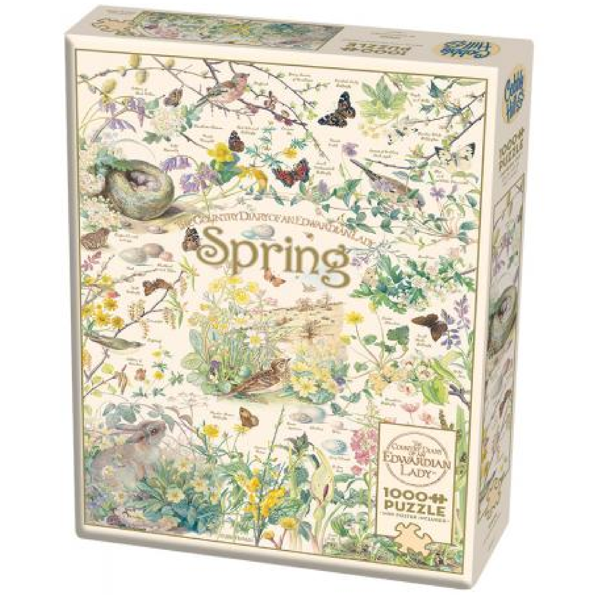 Cobble Hill Puzzle 1000: Country Diary, Spring