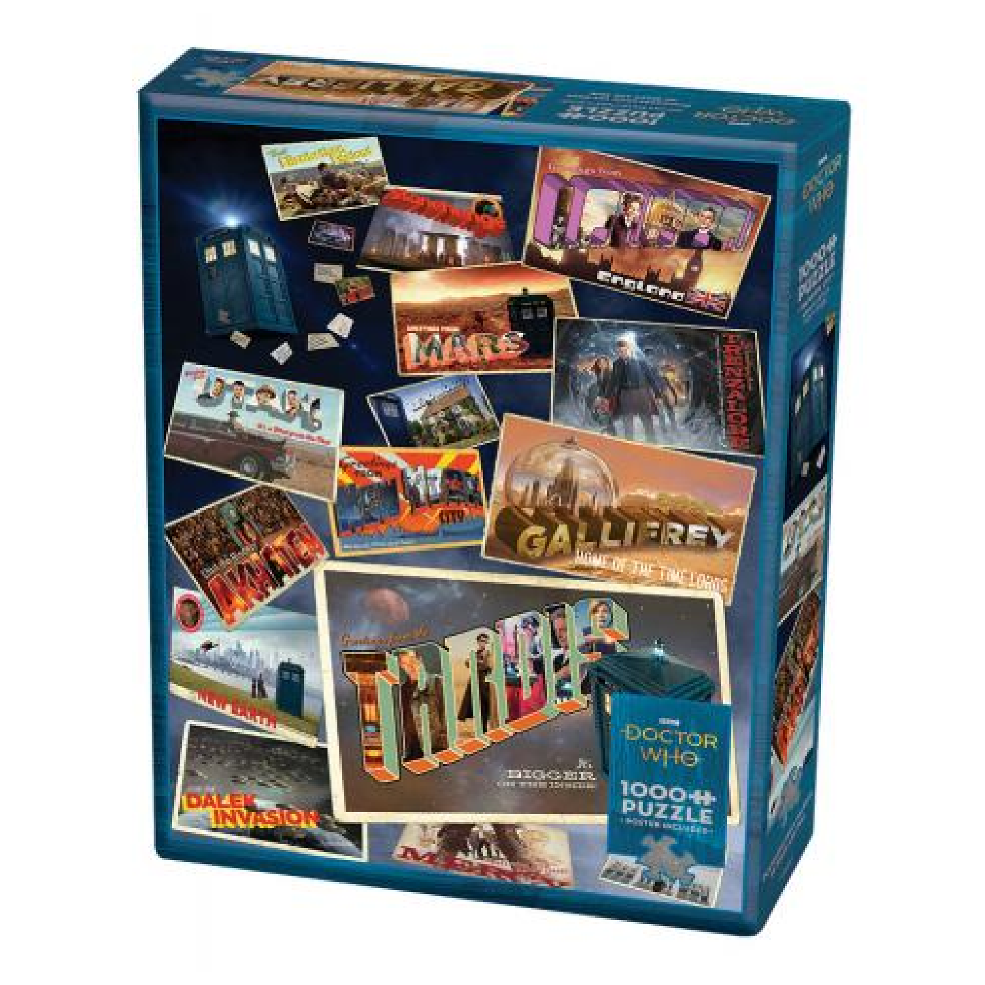 Cobble Hill Puzzle 1000: Doctor Who: Postcards