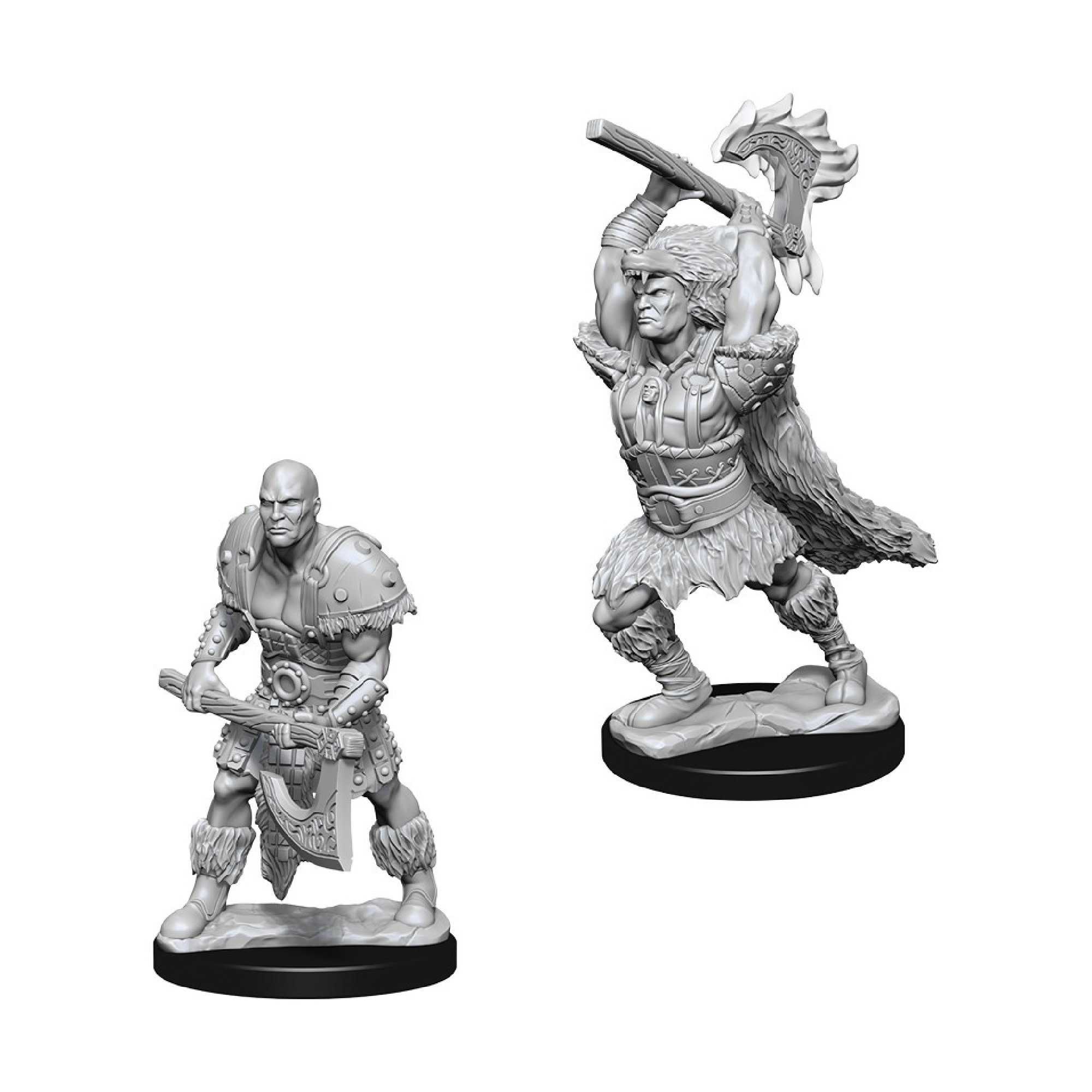 Wizkids Games Unpainted Minis WV10 Male Goliath Barbarian