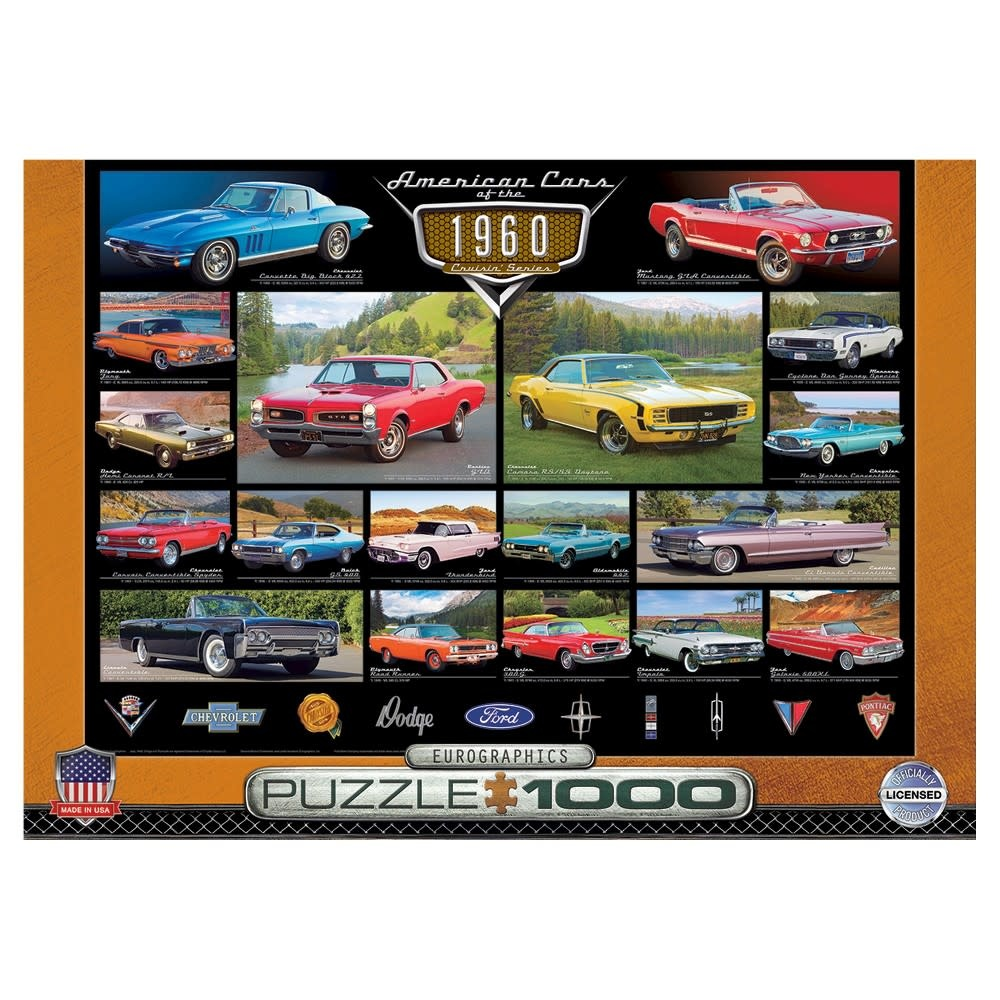 Eurographics Puzzle 1000: American Cars of the 1960s