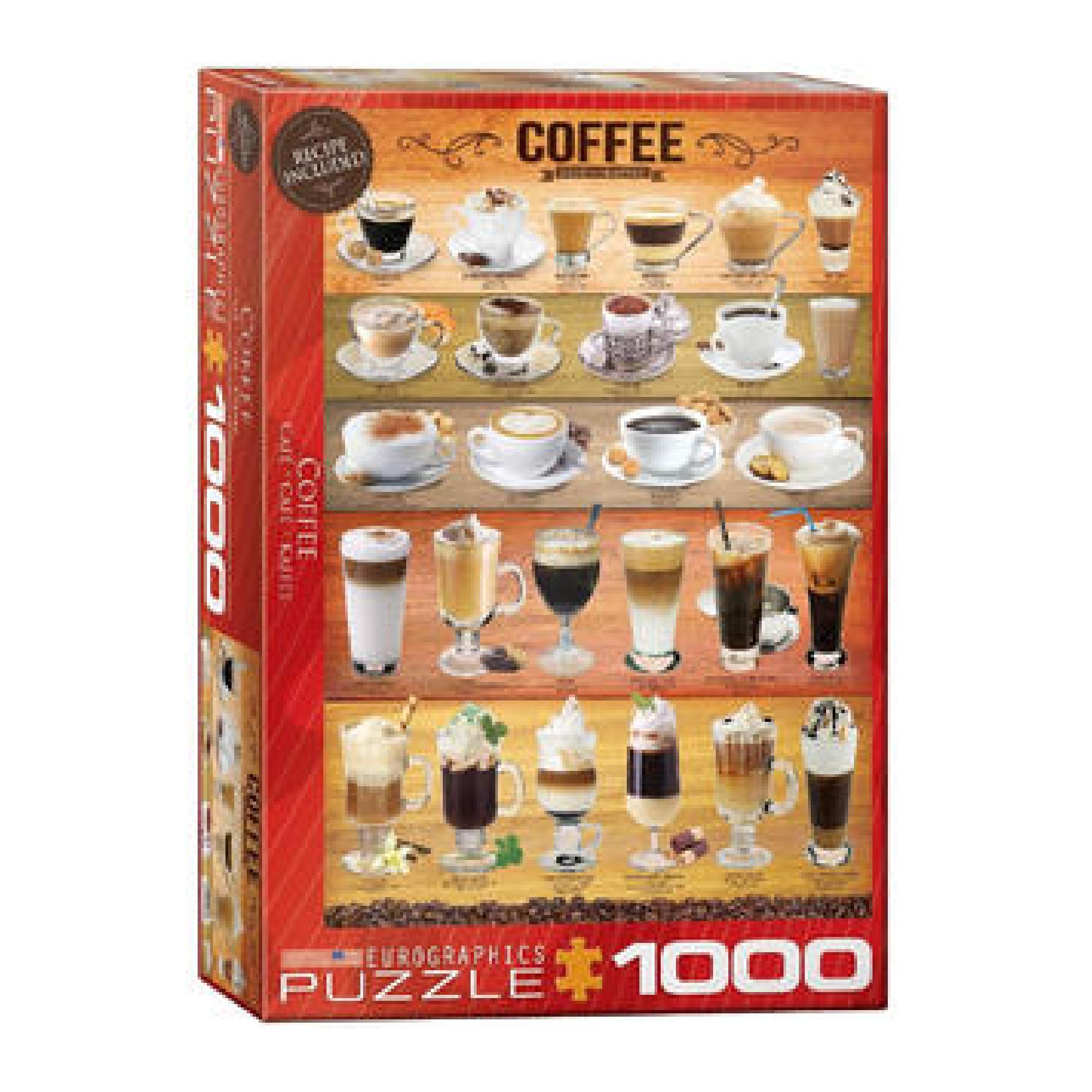 Eurographics Puzzle 1000: Coffee