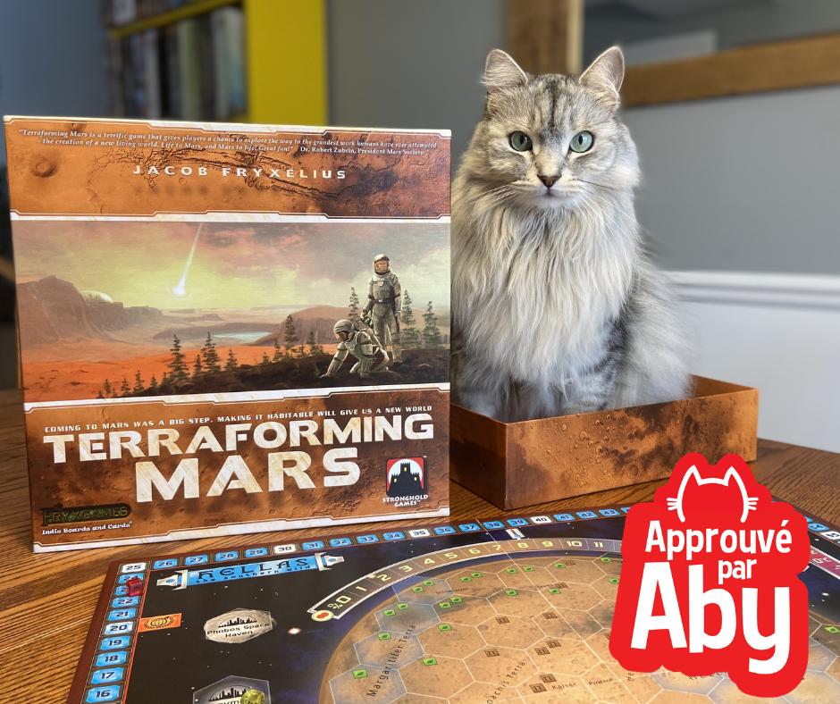 Terraforming Mars - Approuvé par Aby