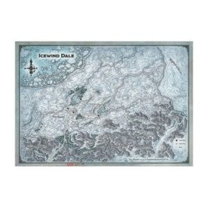 Gale Force Nine D&D Dungeons & Dragons: Icewind Dale - Map 31X21''