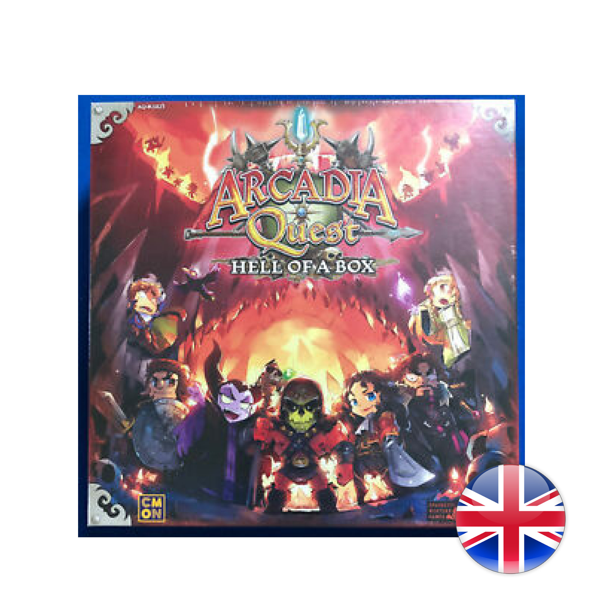 Arcadia quest Hell of a Box