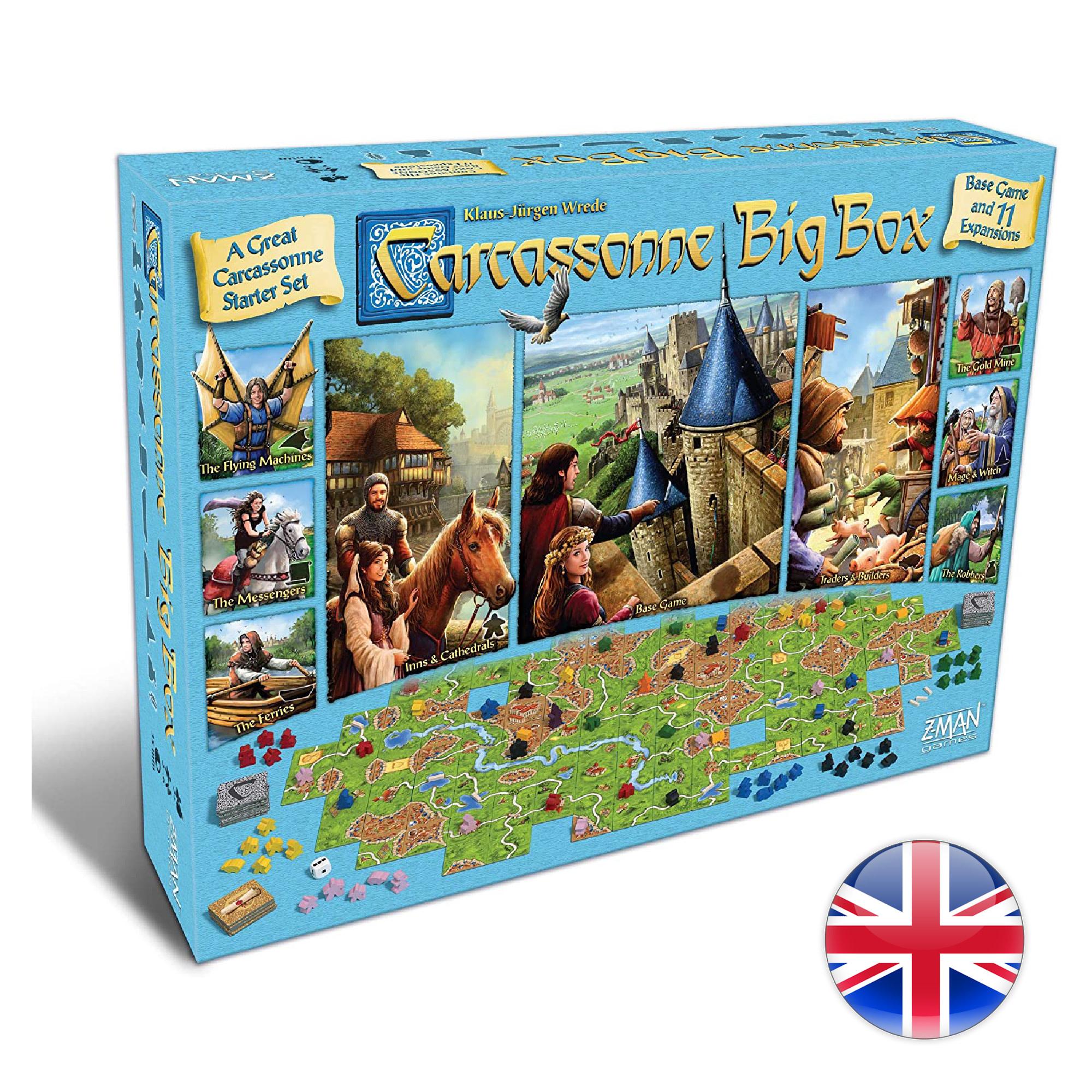 Z-Man Carcassonne Big Box 2017 VA