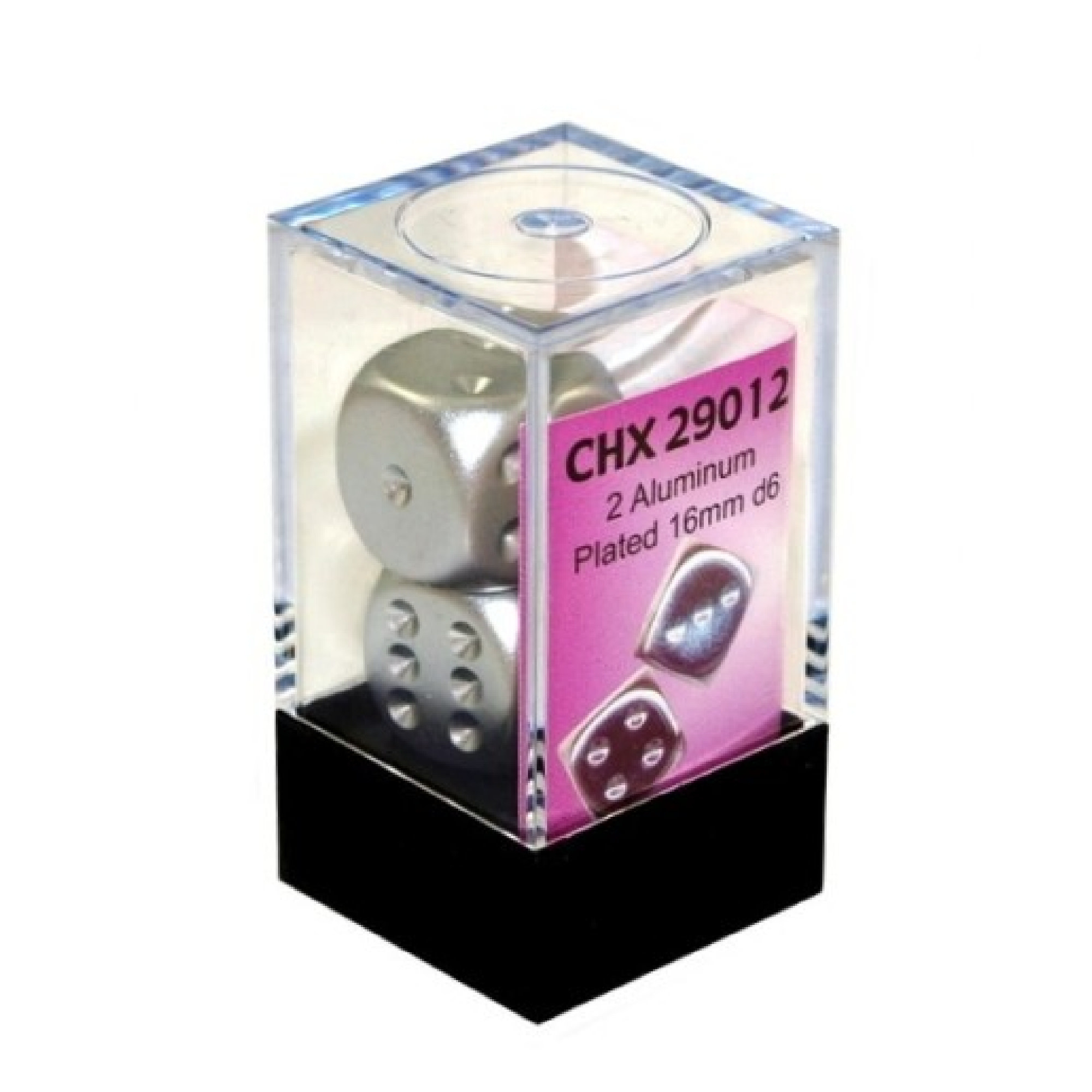 Chessex CHX D6 Aluminum Plated 16mm (2)