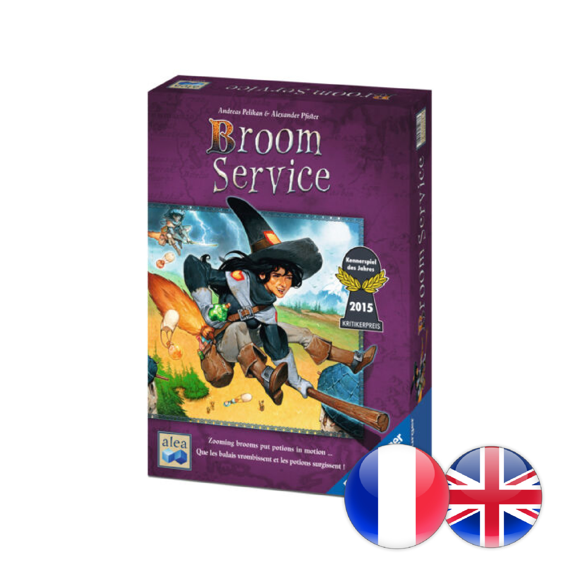 Ravensburger Broom Service (multi)