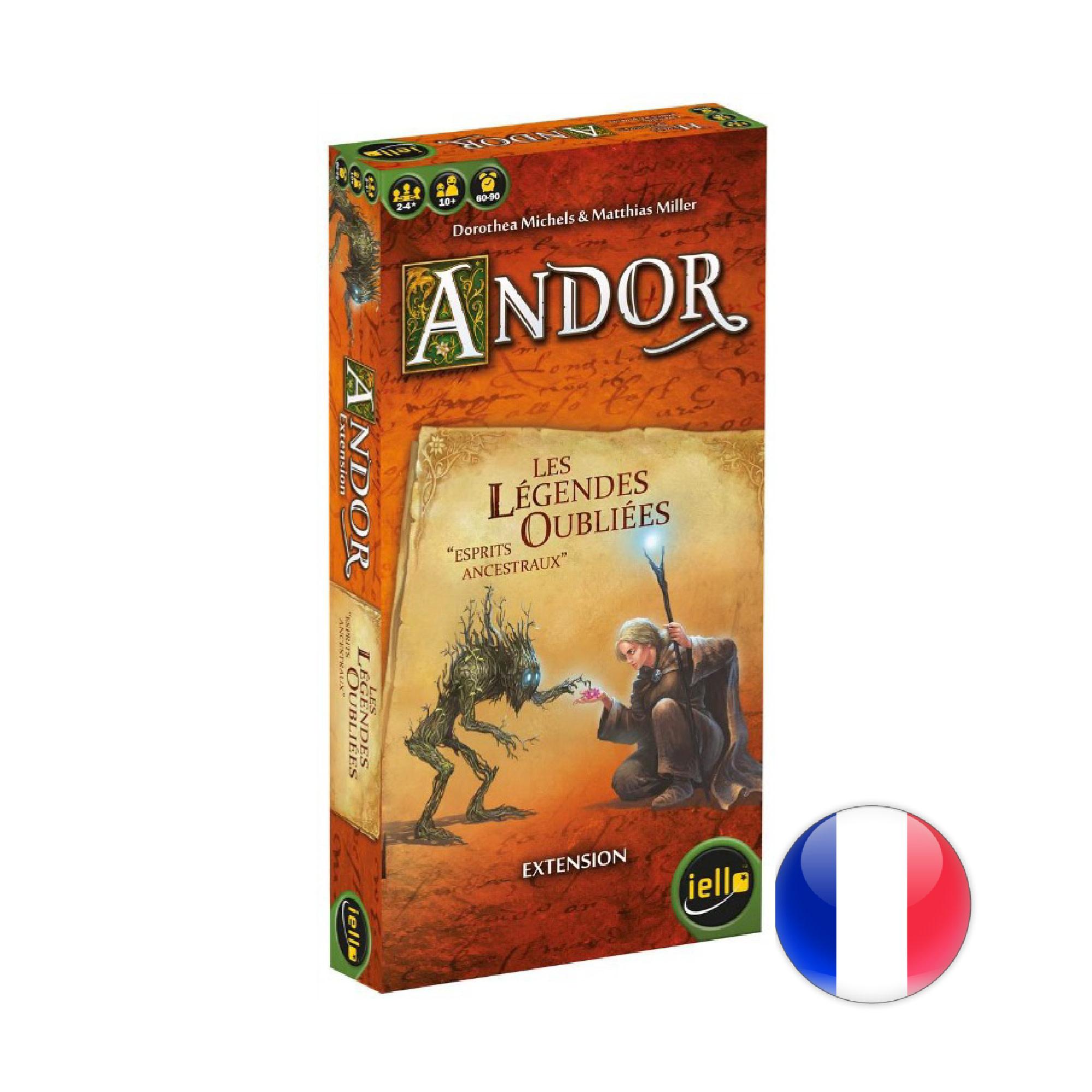 IELLO Andor - Ext. La légende oubliée