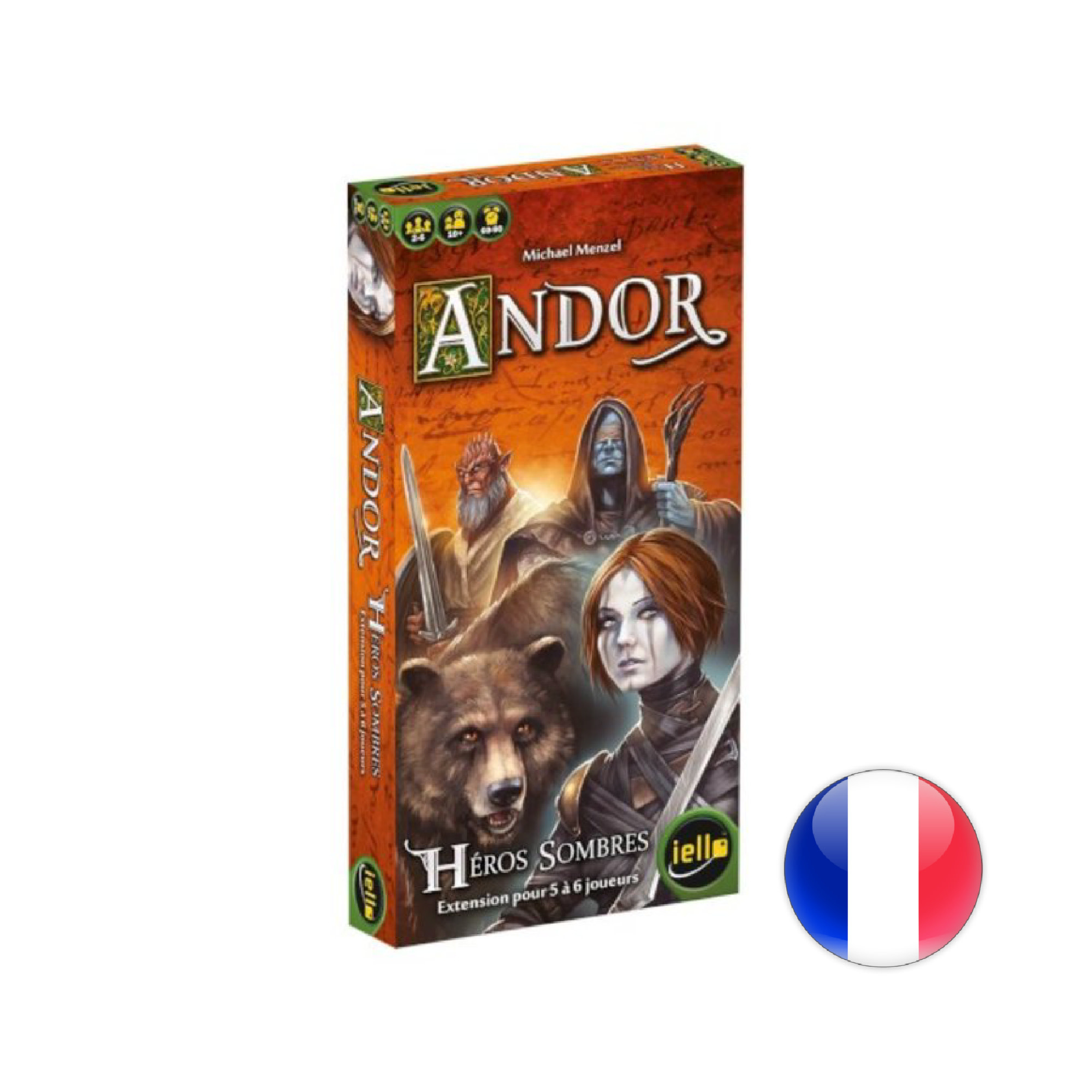 IELLO Andor - Héros sombres