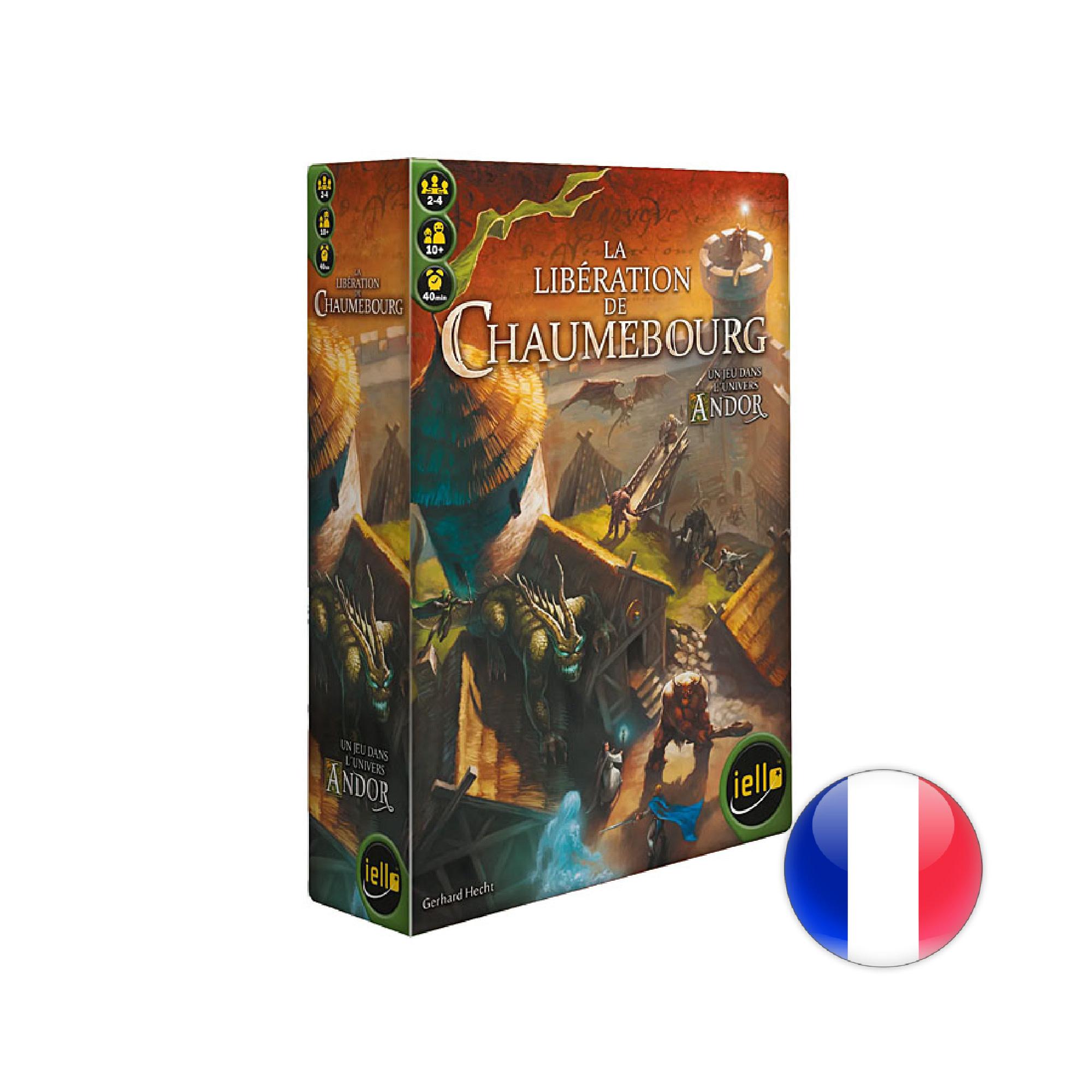 IELLO Andor - La libération de Chaumebourg
