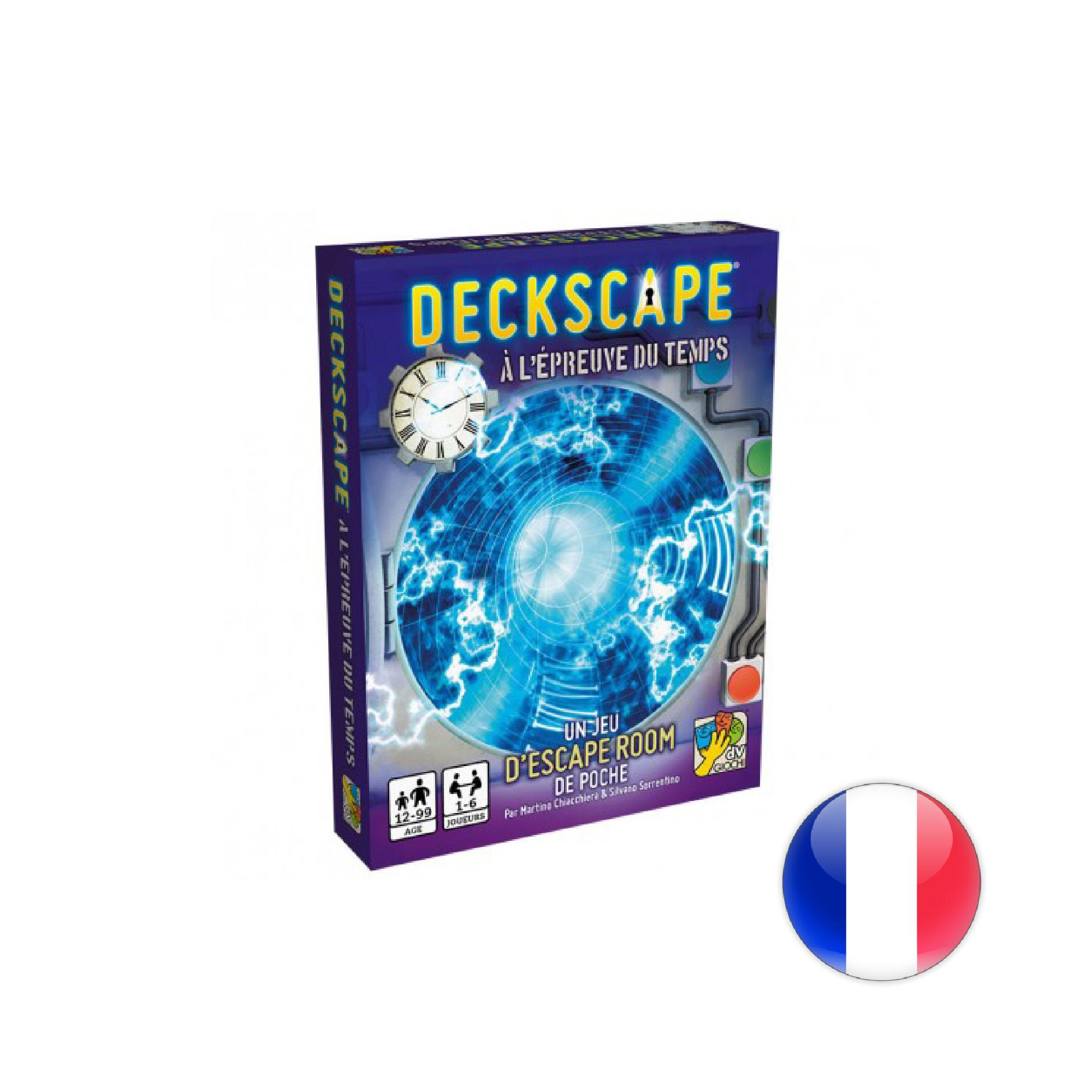 DV giochi Deckscape : À l'Épreuve du Temps