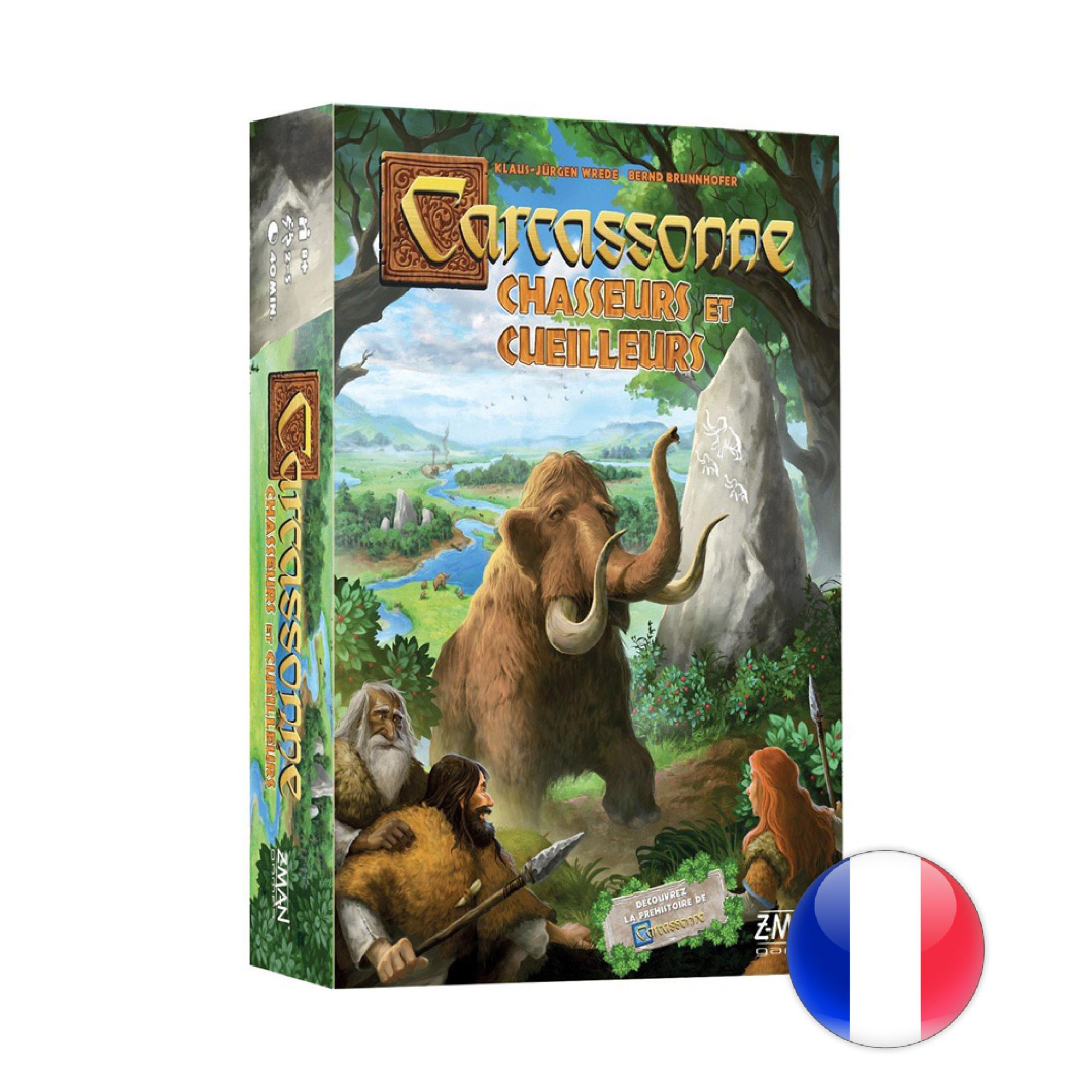 Z-Man Carcassonne - Chasseurs et Cueilleurs
